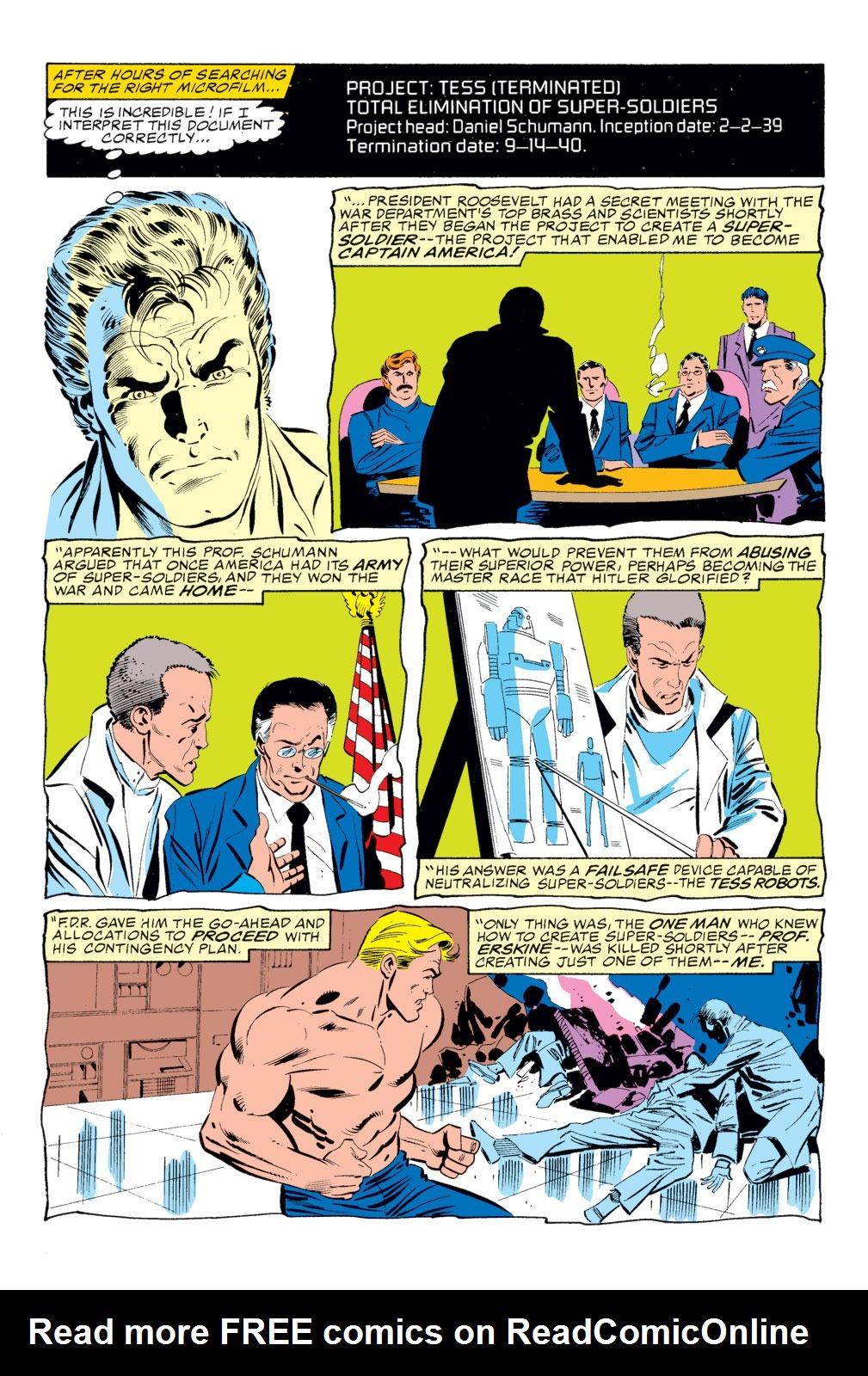 Read online Captain America (1968) comic -  Issue # _Annual 8 - 30