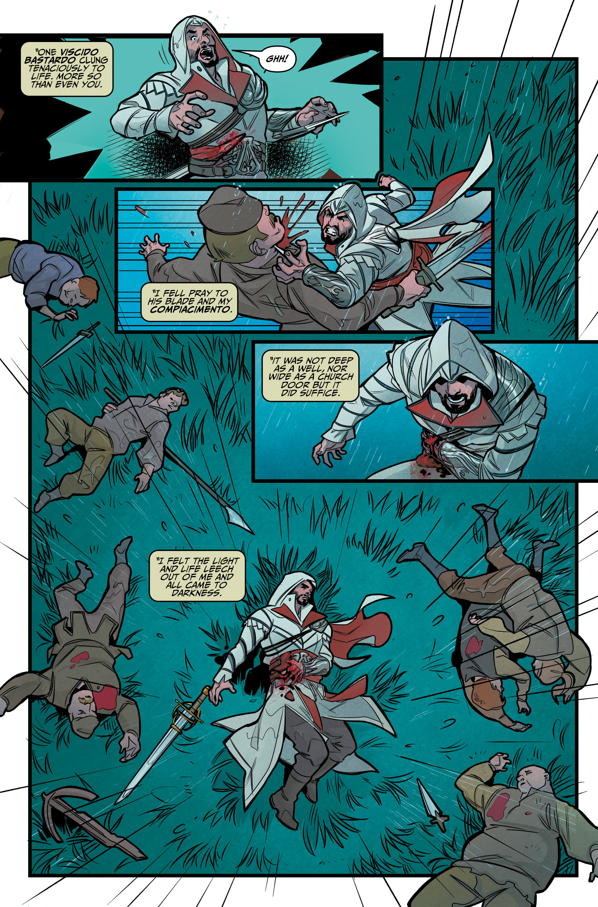 Read online Assassin's Creed: Reflections comic -  Issue #1 - 11