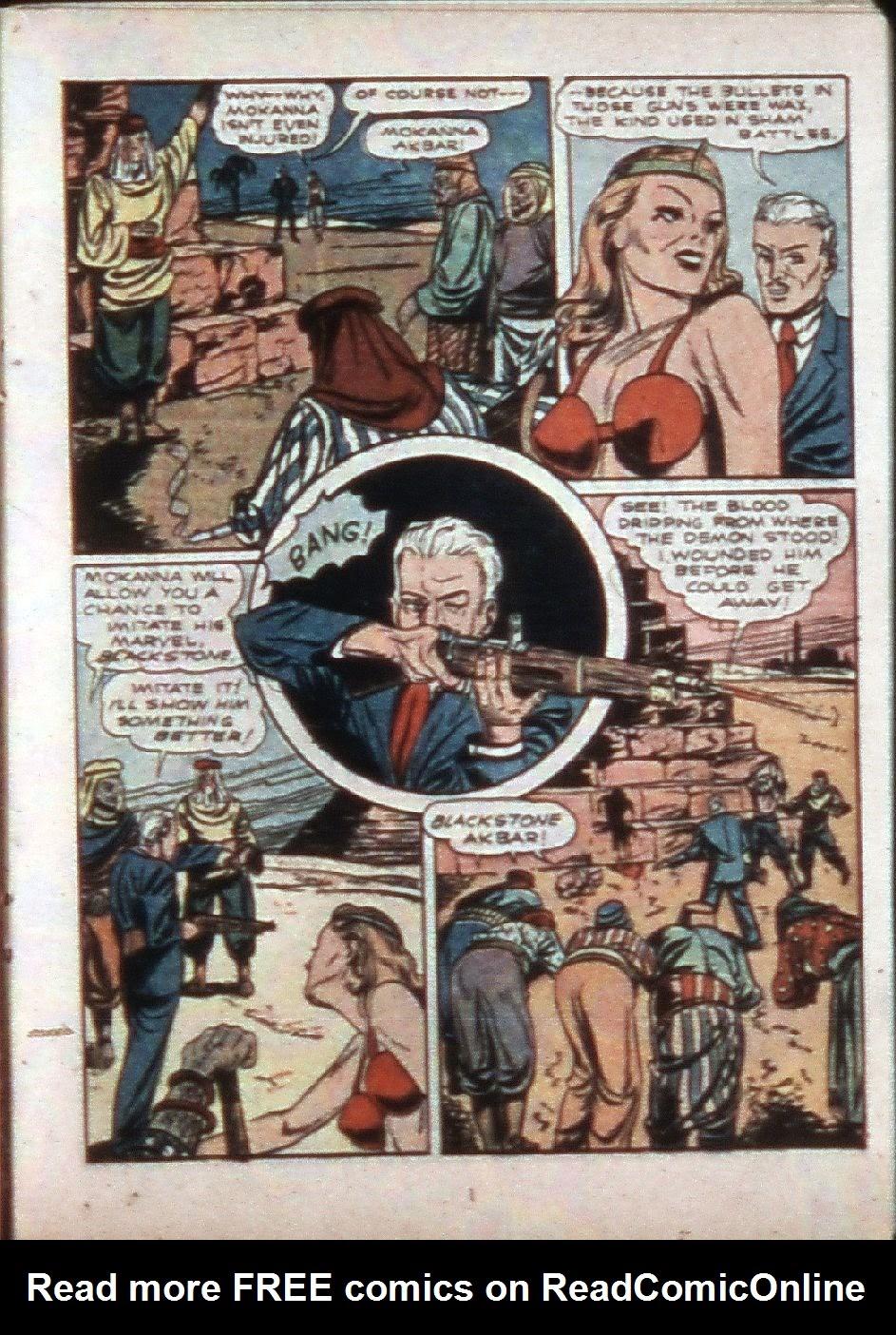 Read online Super-Magician Comics comic -  Issue #3 - 31