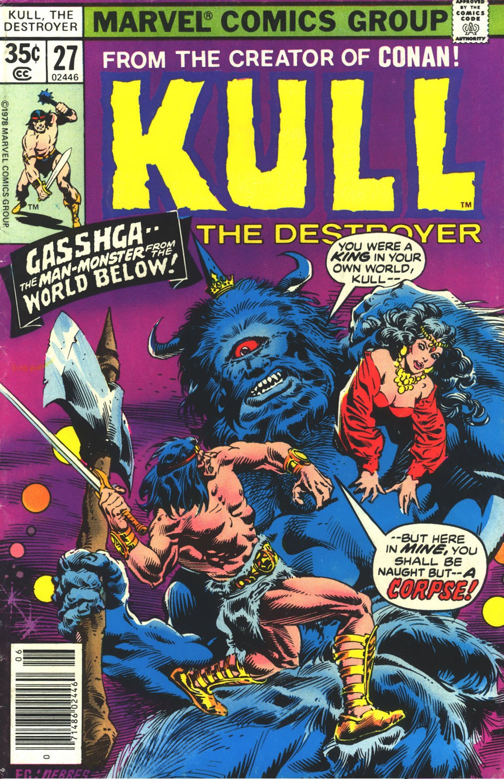Kull The Destroyer issue 27 - Page 1