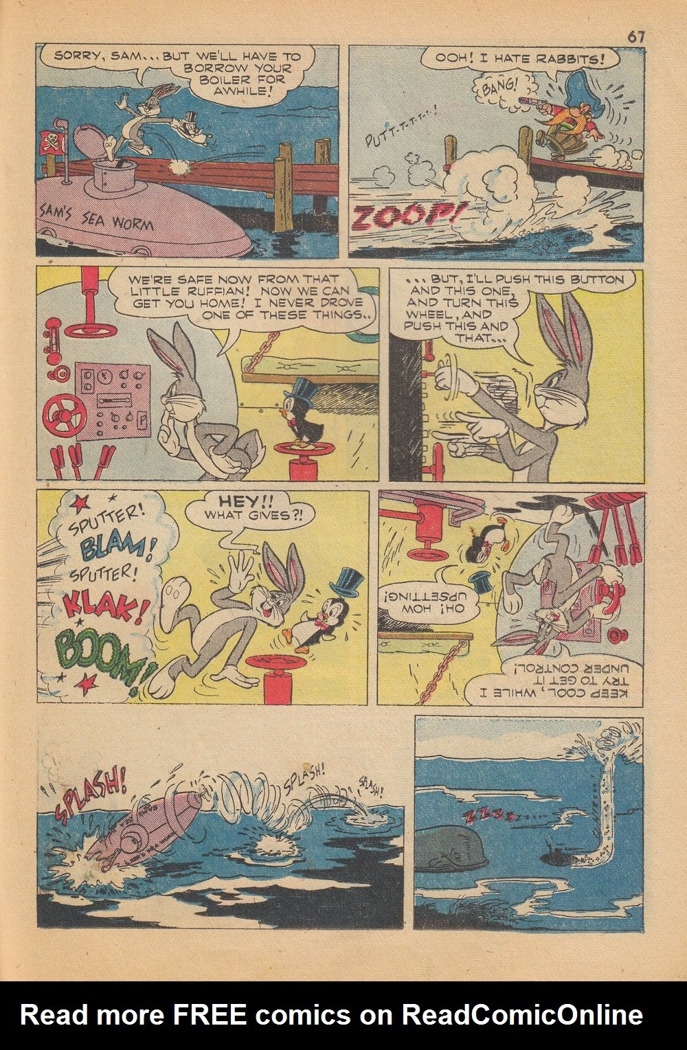 Bugs Bunny's Christmas Funnies issue TPB 4 - Page 69