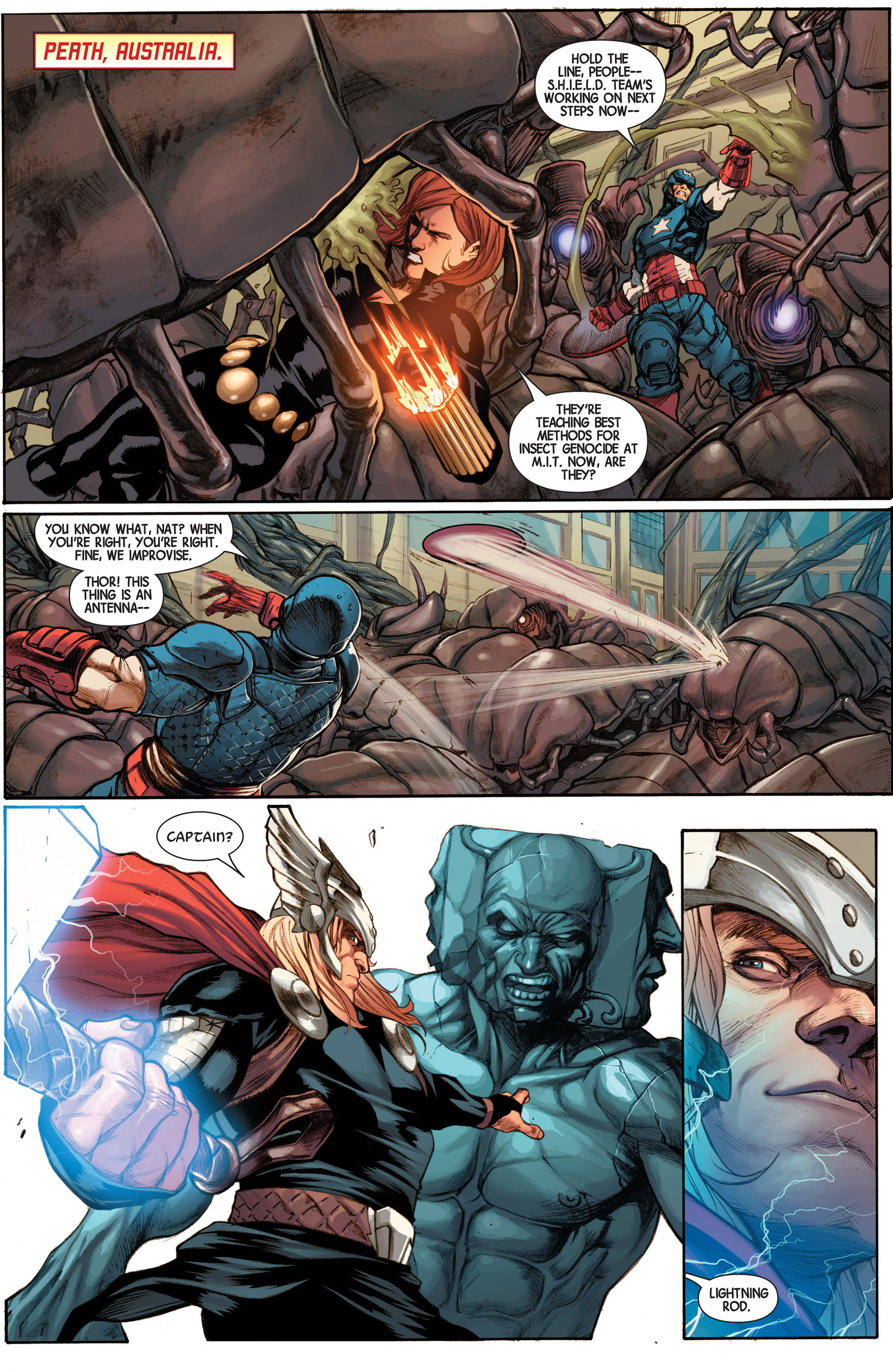 Read online Avengers (2013) comic -  Issue #15 - 14