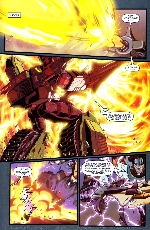 Read online Transformers Armada comic -  Issue #16 - 21