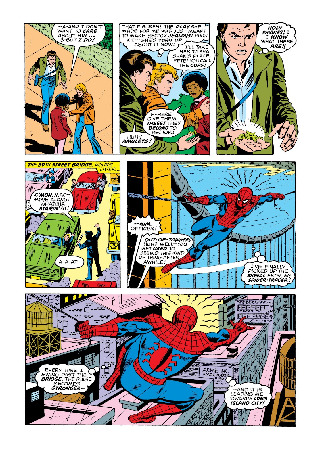 Read online Marvel Masterworks: The Spectacular Spider-Man comic -  Issue # TPB 2 (Part 1) - 91