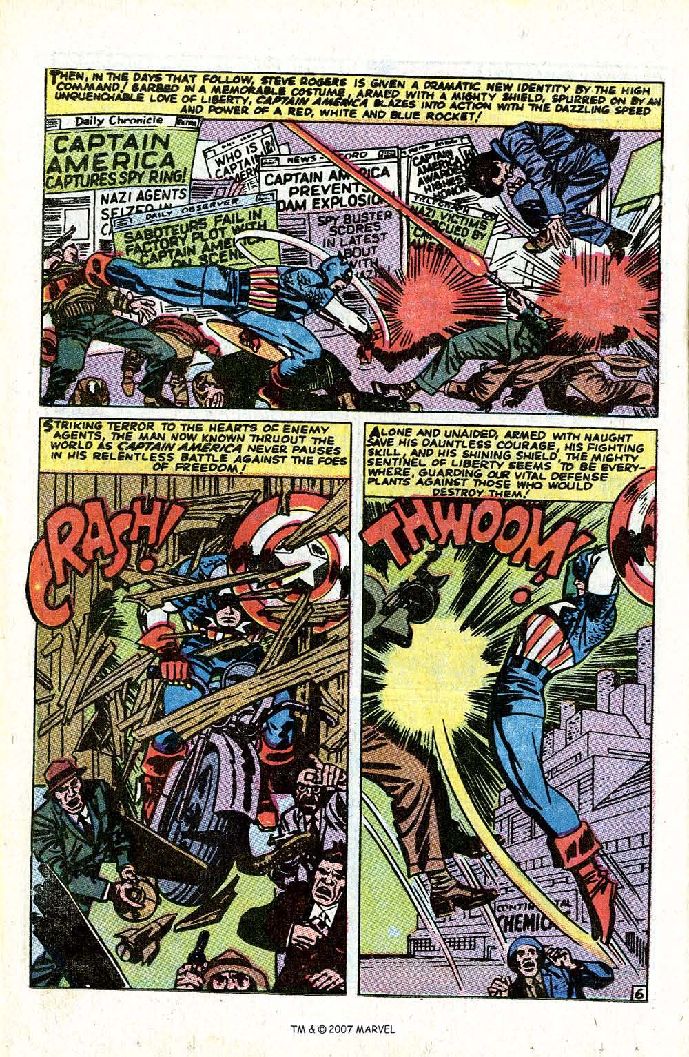 Read online Captain America (1968) comic -  Issue # _Annual 1 - 8