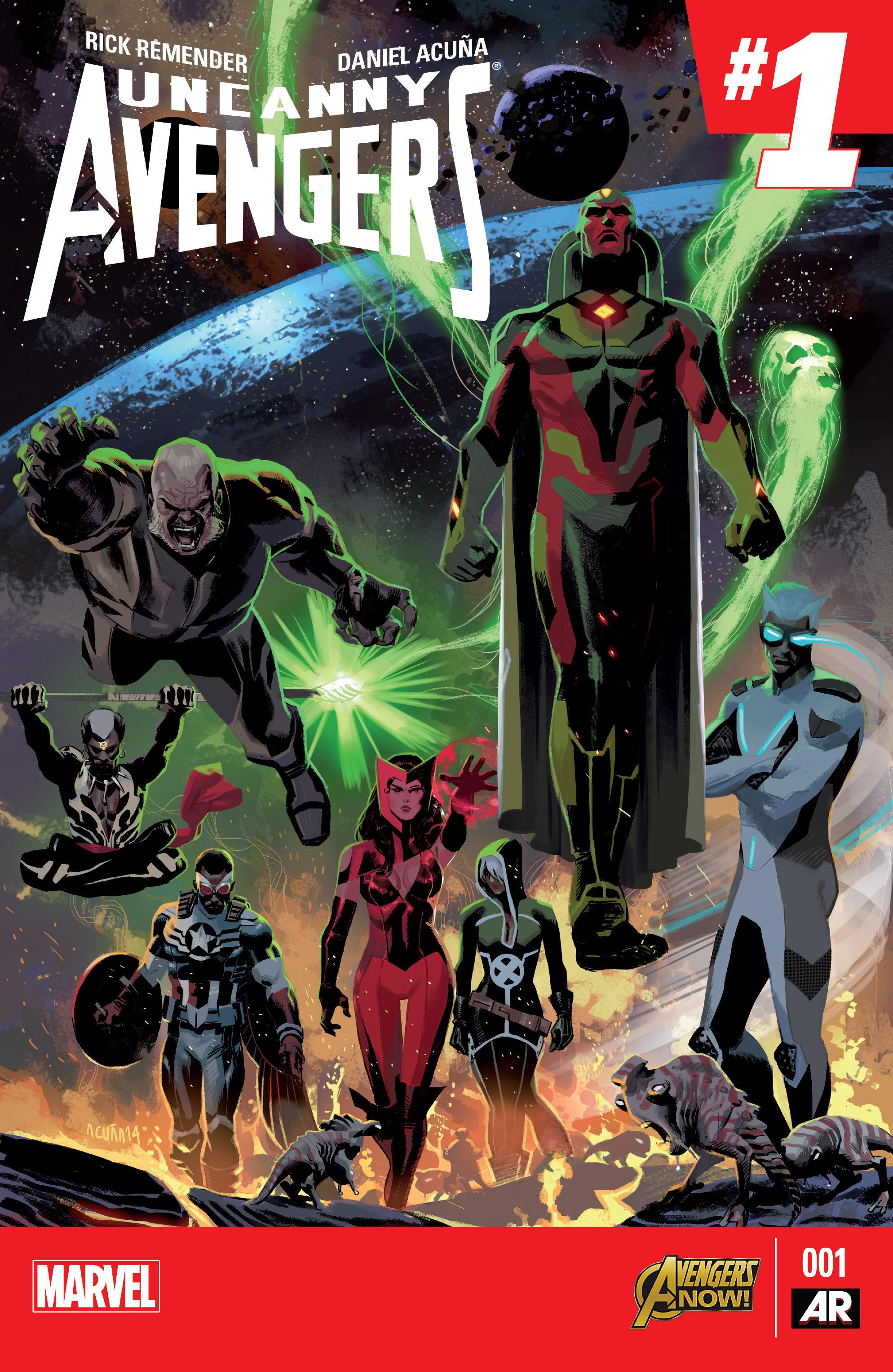 Read online Uncanny Avengers [I] comic -  Issue #1 - 1