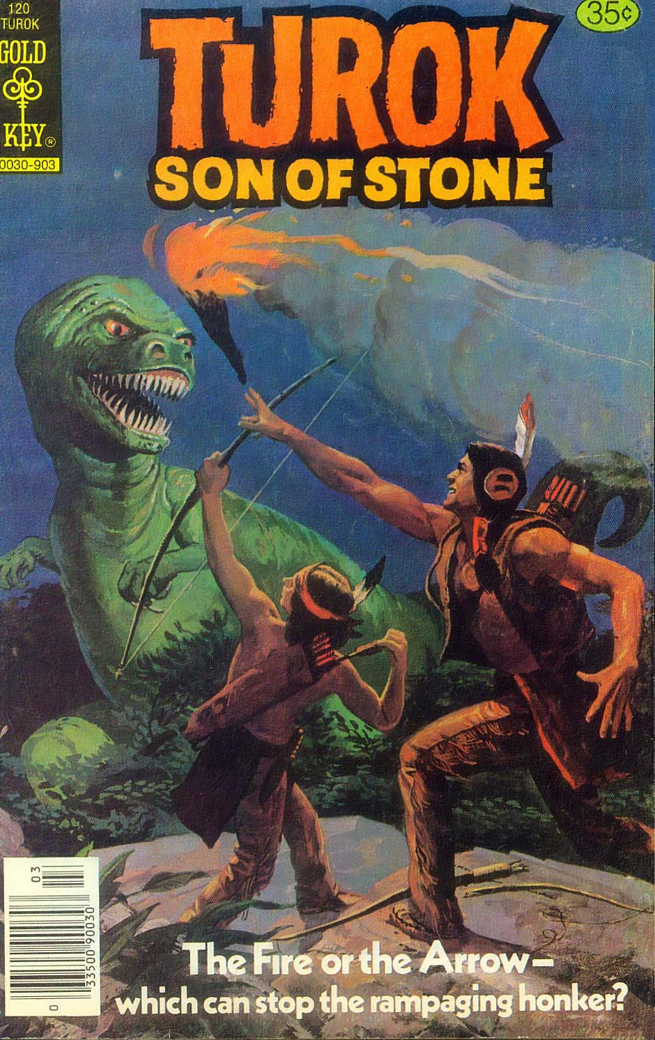 Read online Turok, Son of Stone comic -  Issue #120 - 1