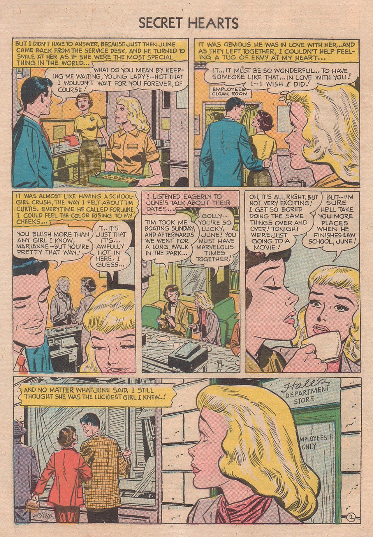 Read online Secret Hearts comic -  Issue #39 - 4