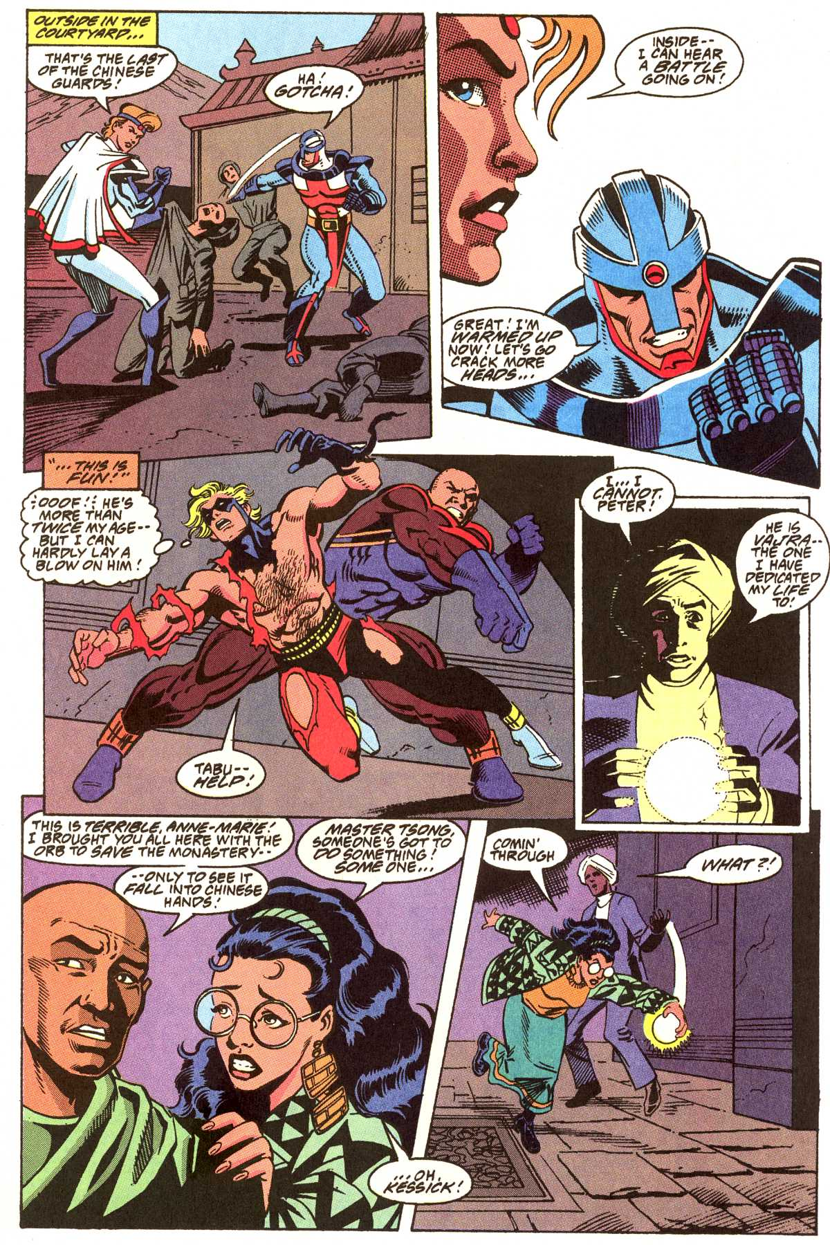 Read online Peter Cannon--Thunderbolt (1992) comic -  Issue #12 - 4