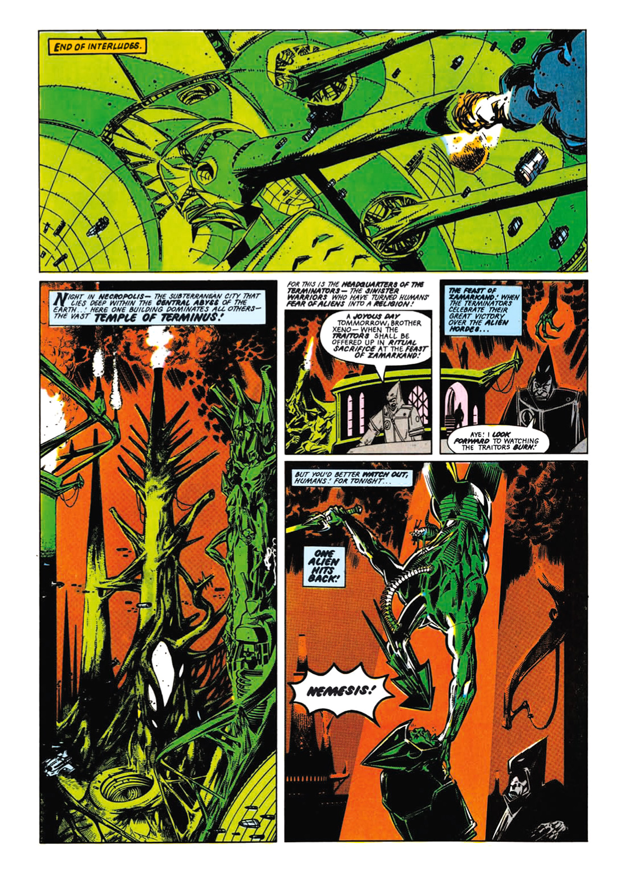Read online Nemesis The Warlock comic -  Issue # TPB Deviant Edition - 51