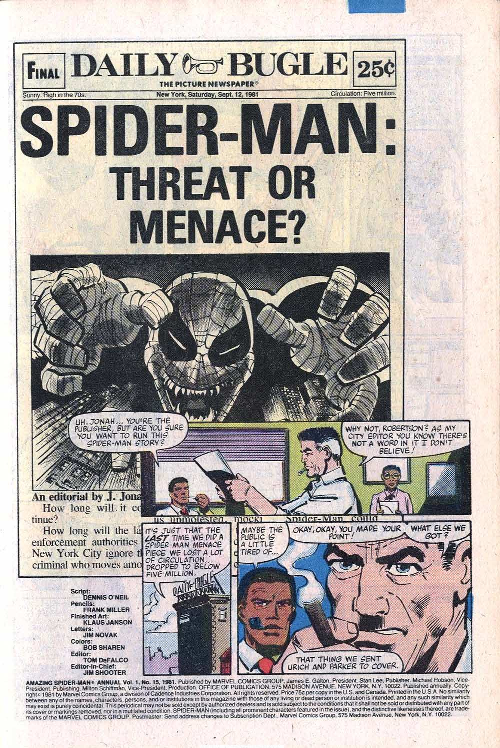 The Amazing Spider-Man (1963) _Annual_15 Page 2