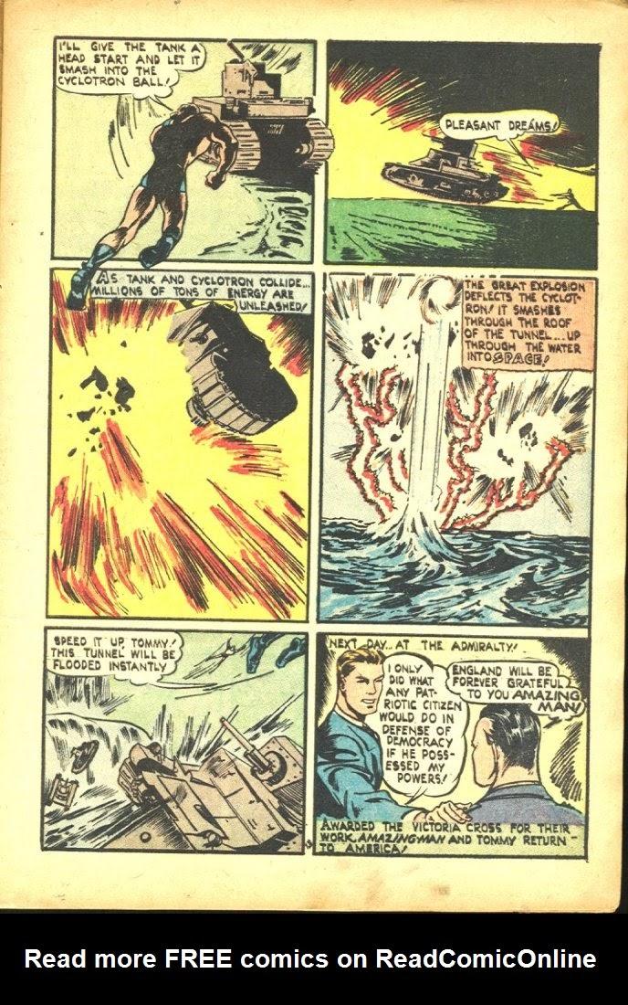 Read online Amazing Man Comics comic -  Issue #25 - 15
