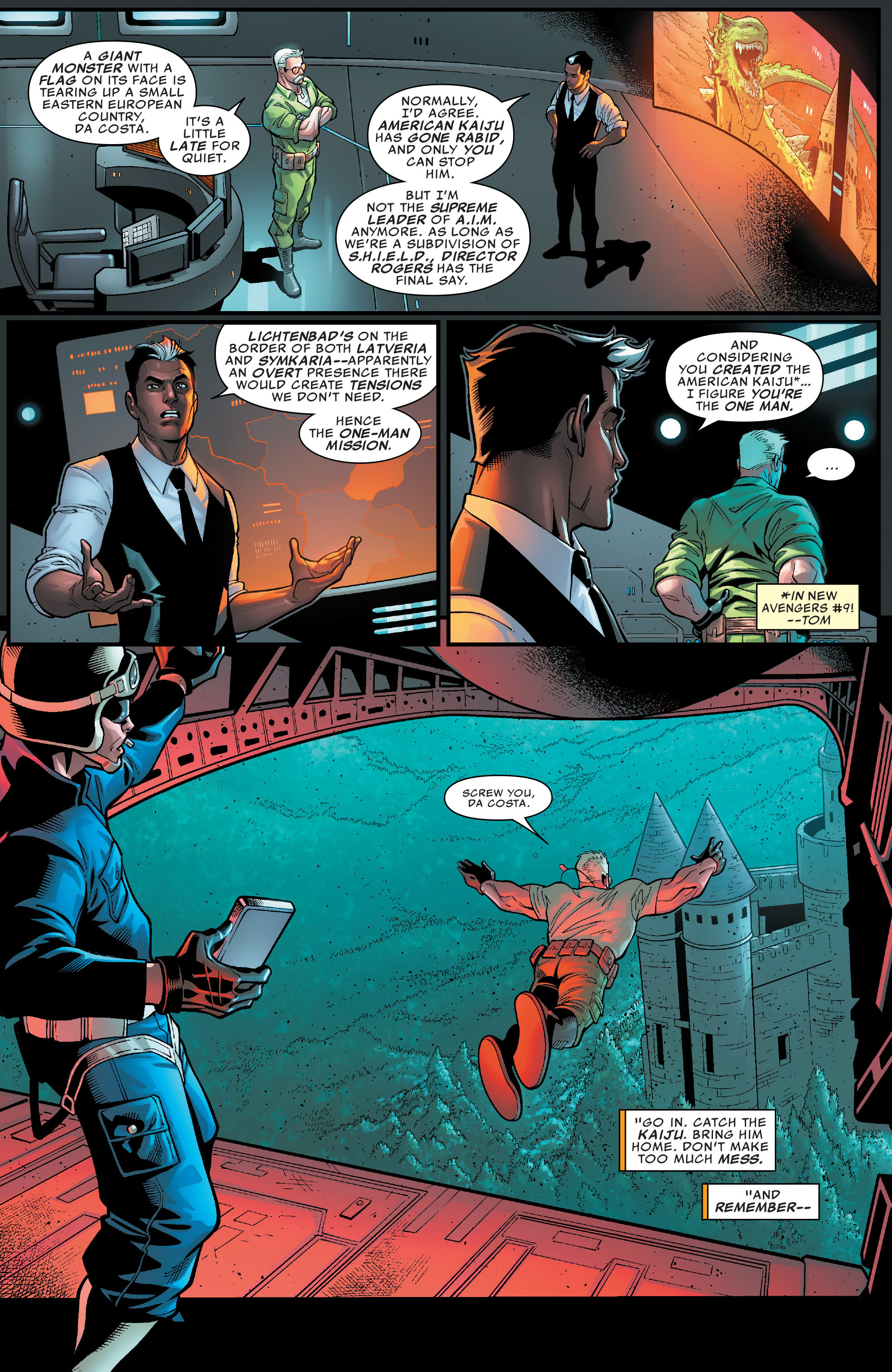 Read online U.S.Avengers comic -  Issue #4 - 5