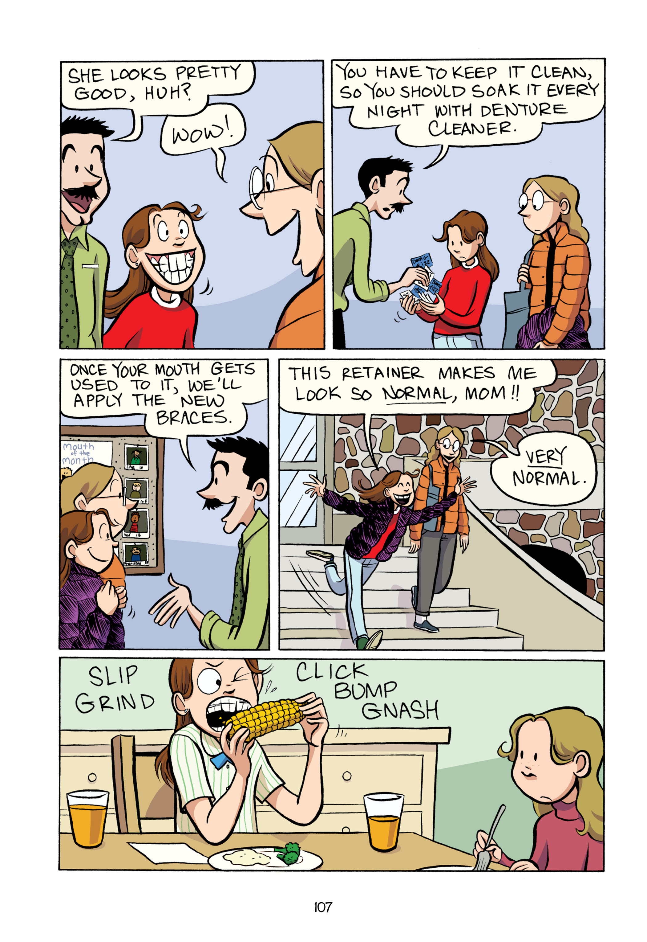 Read online Smile comic -  Issue # TPB - 113