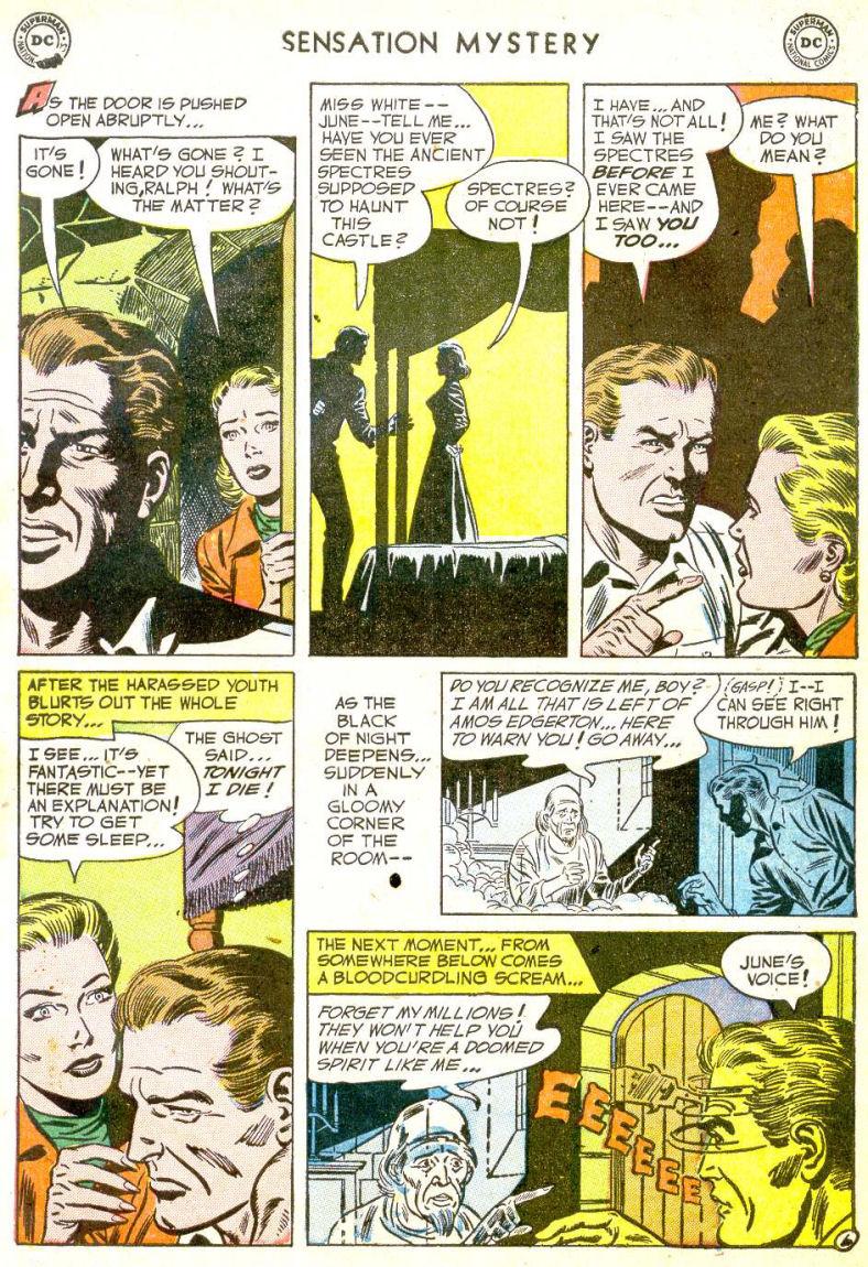 Read online Sensation (Mystery) Comics comic -  Issue #113 - 31