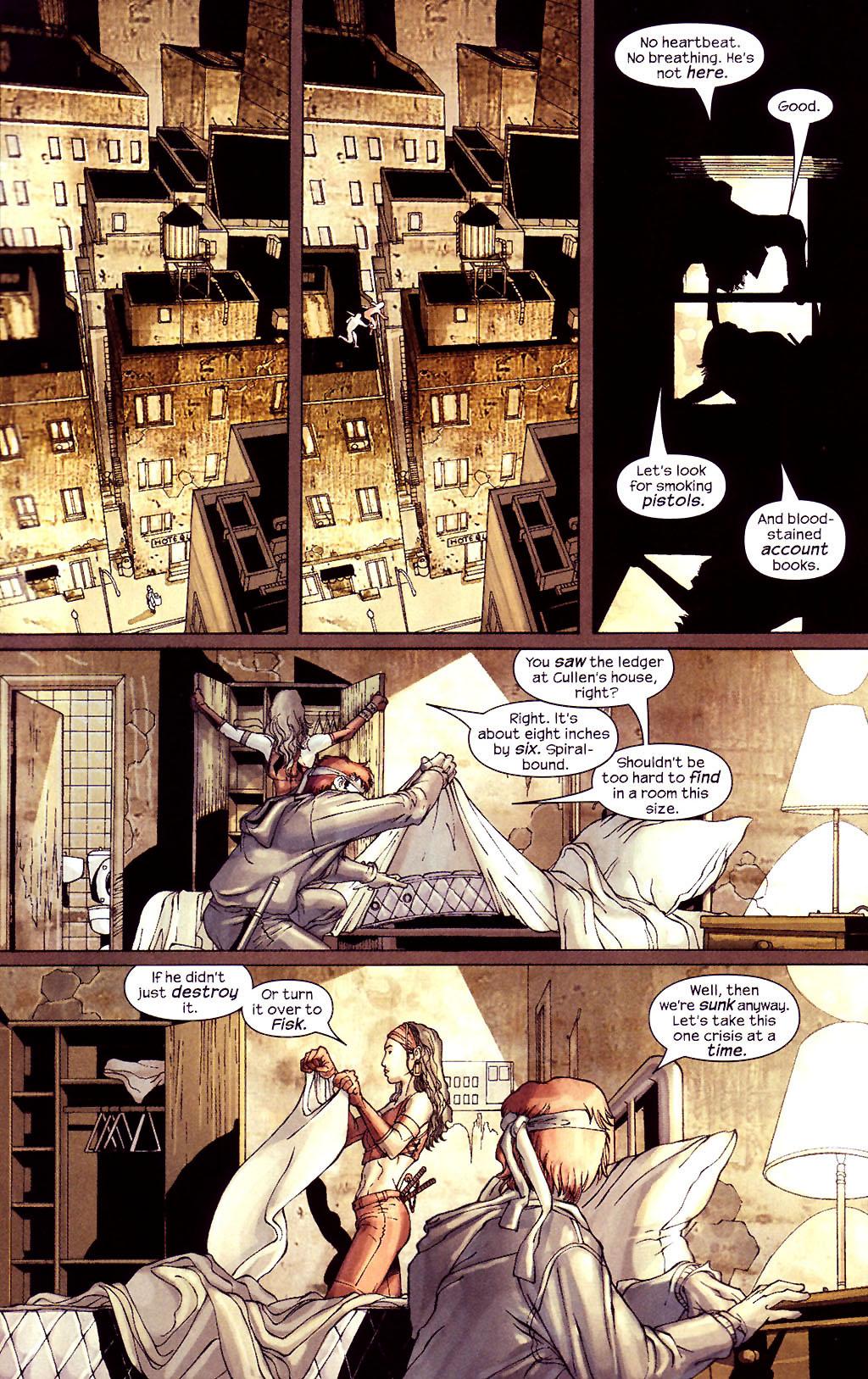 Read online Ultimate Elektra comic -  Issue #4 - 15