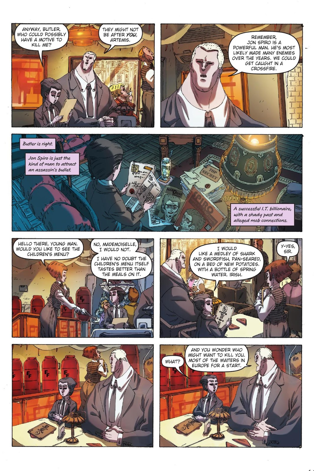 Artemis Fowl: The Eternity Code issue TPB - Page 9