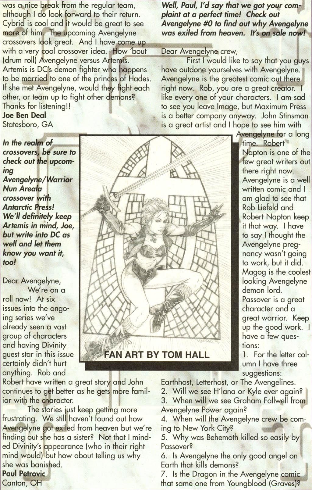 Read online Avengelyne (1996) comic -  Issue #7 - 22