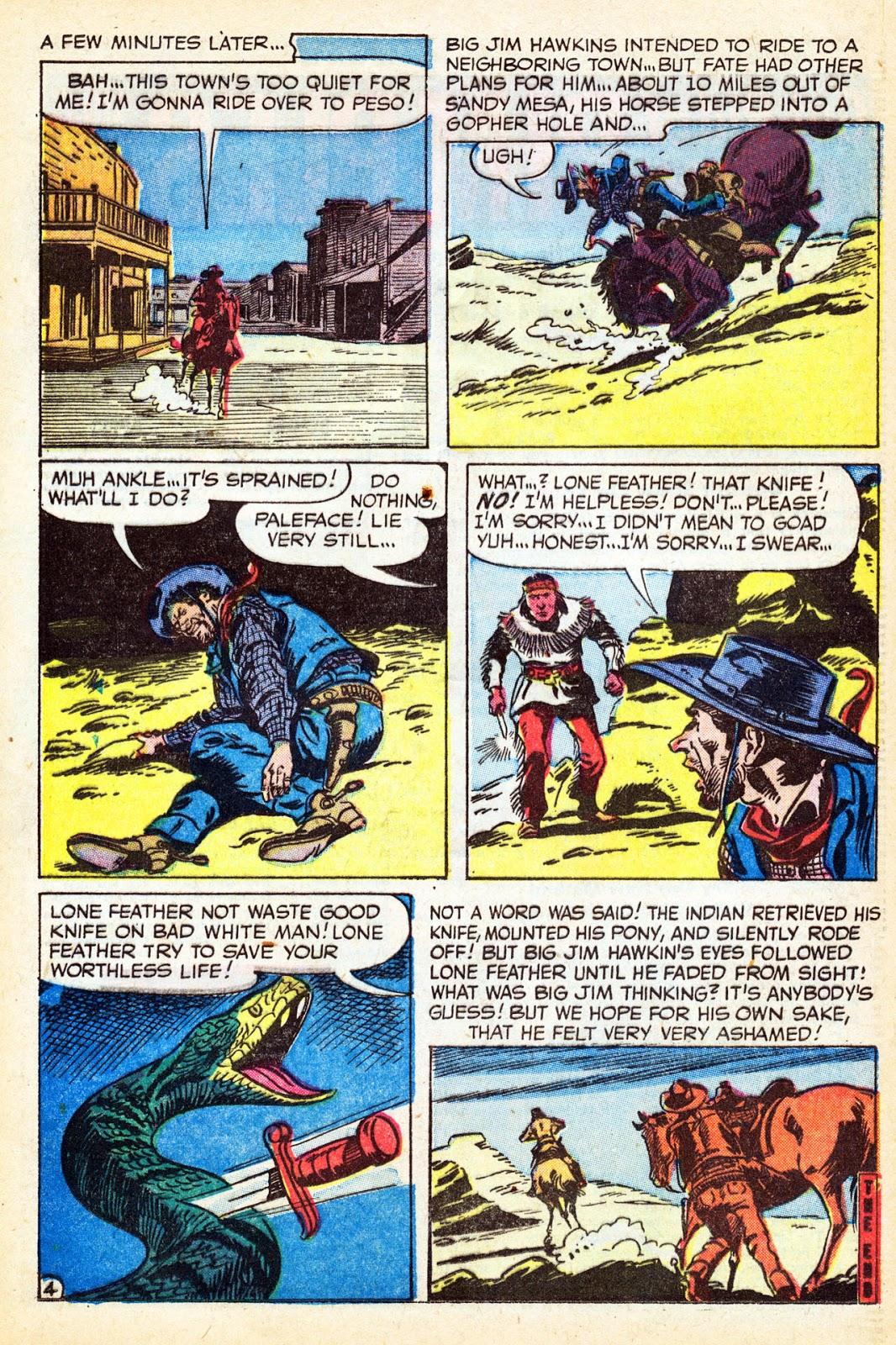 Gunsmoke Western issue 37 - Page 20