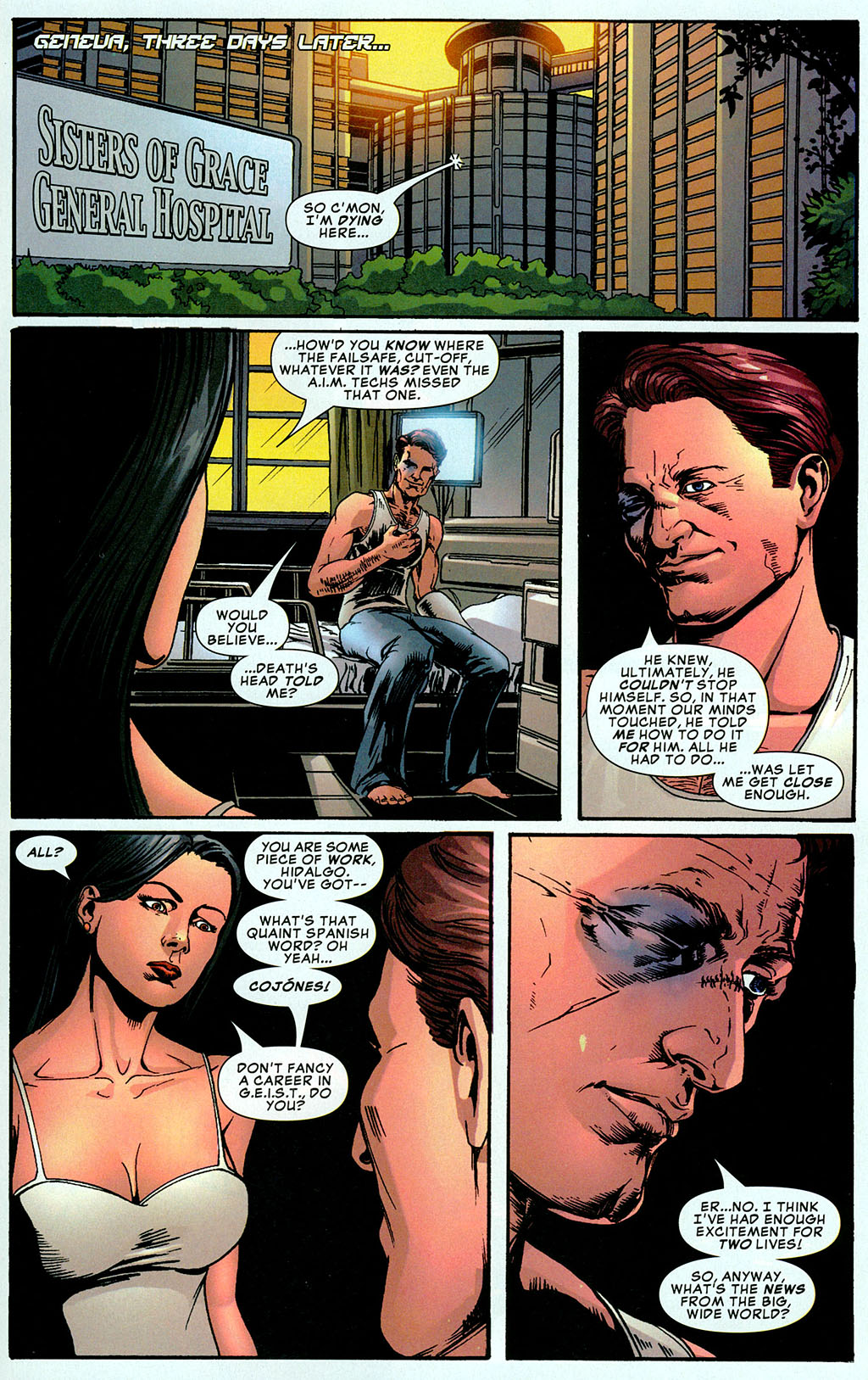 Read online Amazing Fantasy (2004) comic -  Issue #20 - 21