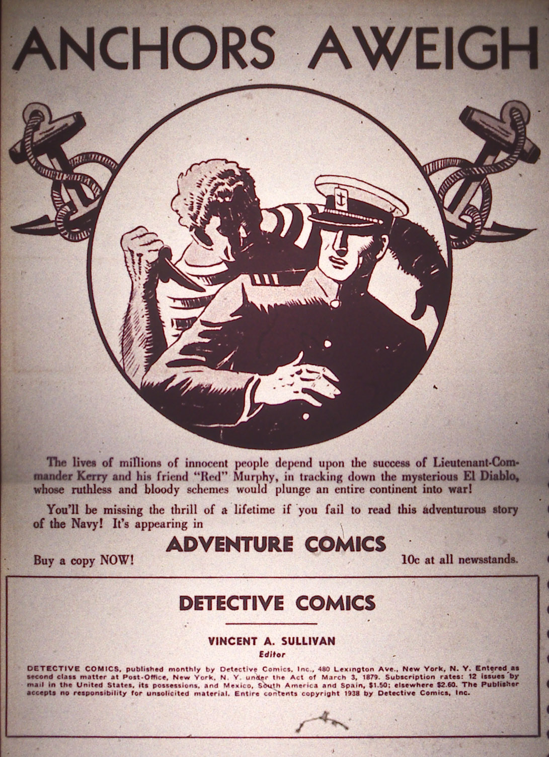 Read online Detective Comics (1937) comic -  Issue #21 - 2