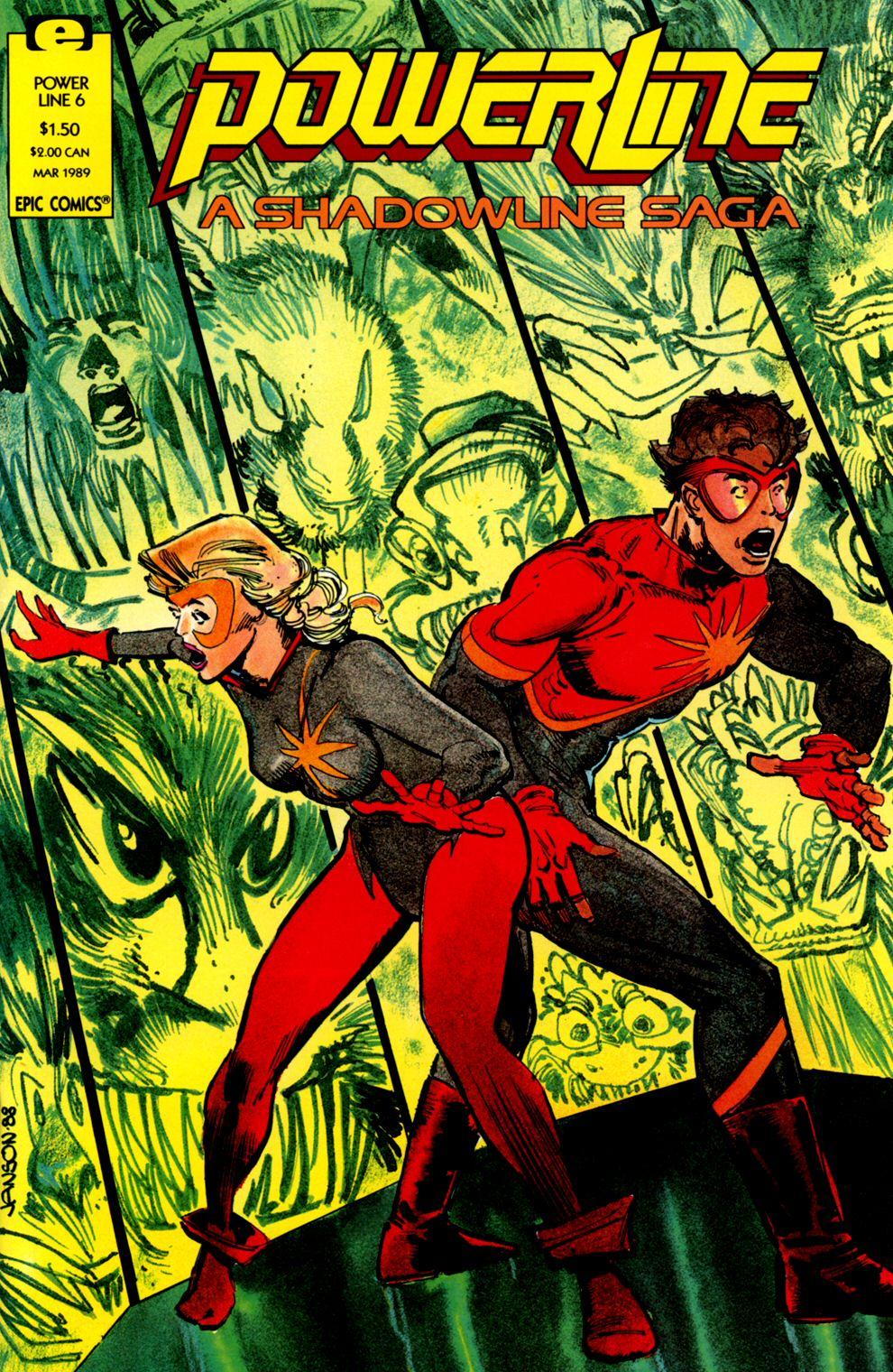 Read online Powerline comic -  Issue #6 - 1