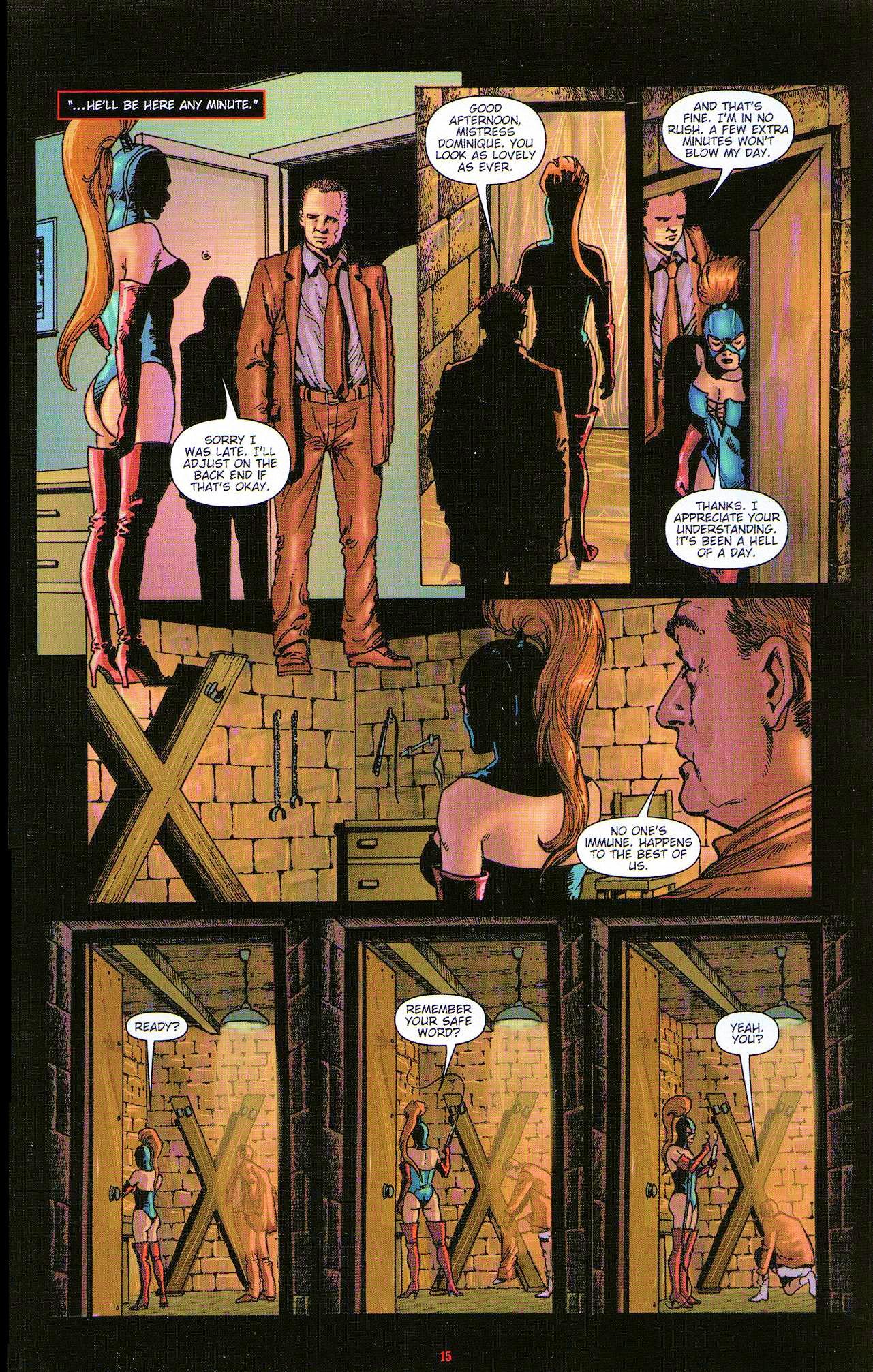 Read online Dominatrix comic -  Issue #5 - 17