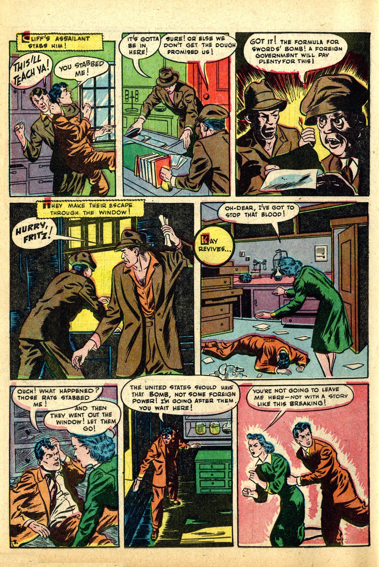 Read online Detective Comics (1937) comic -  Issue #50 - 46