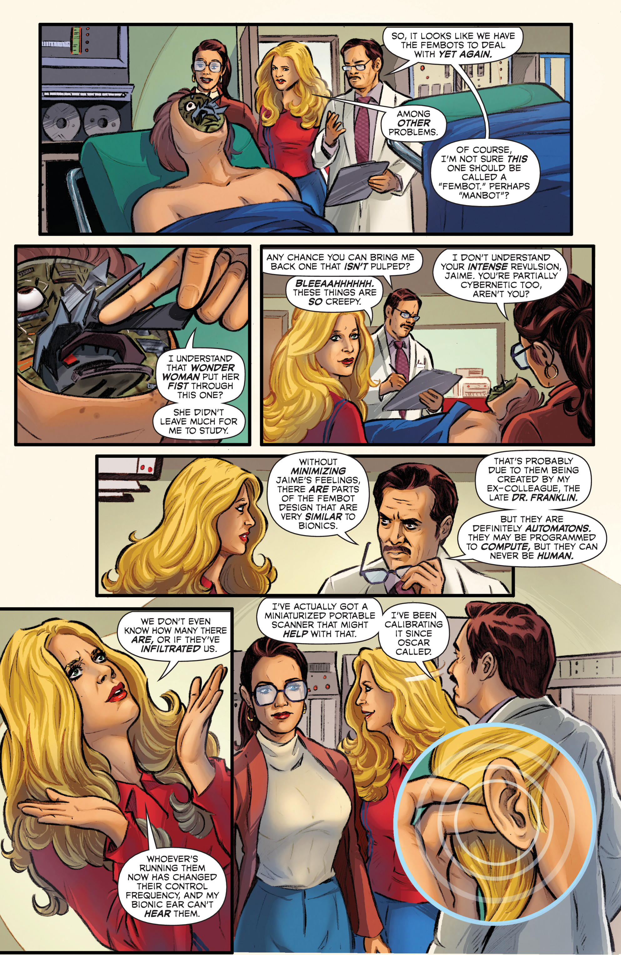 Read online Wonder Woman '77 Meets The Bionic Woman comic -  Issue #3 - 22