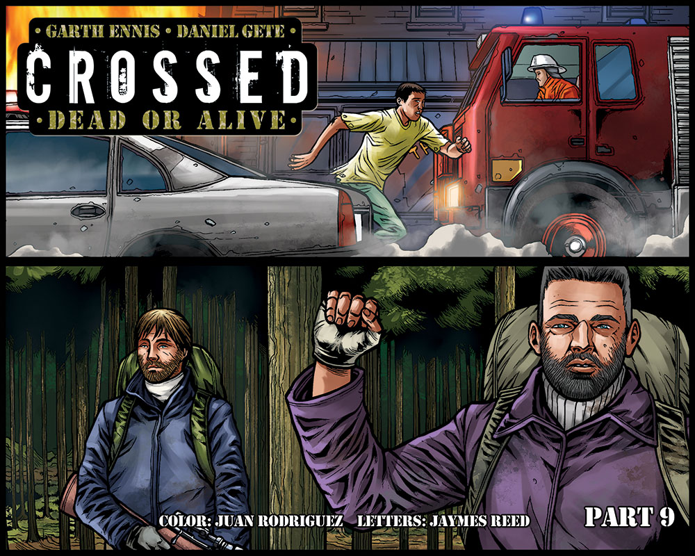 Crossed Dead or Alive issue 9 - Page 1