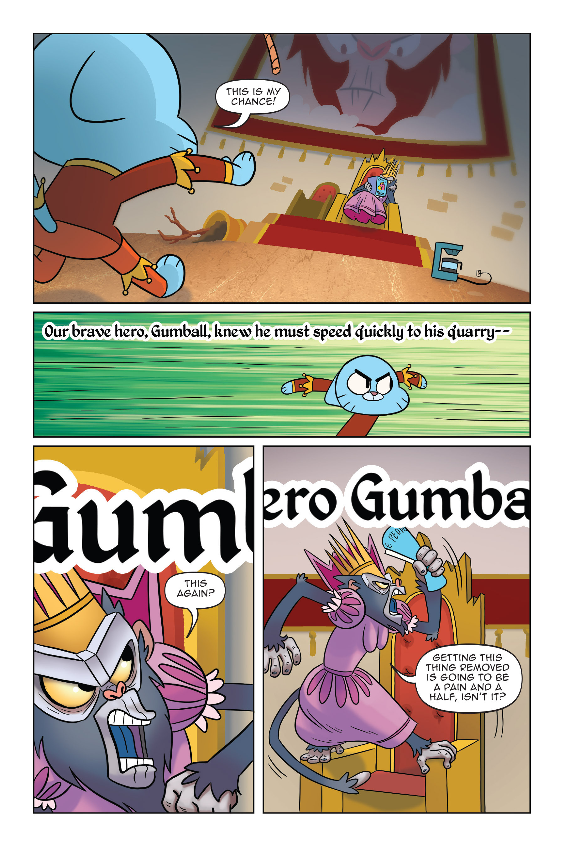 Read online The Amazing World of Gumball: Fairy Tale Trouble comic -  Issue # Full - 125