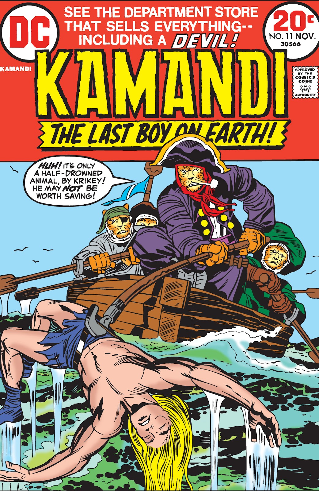 Kamandi, The Last Boy On Earth issue 11 - Page 1