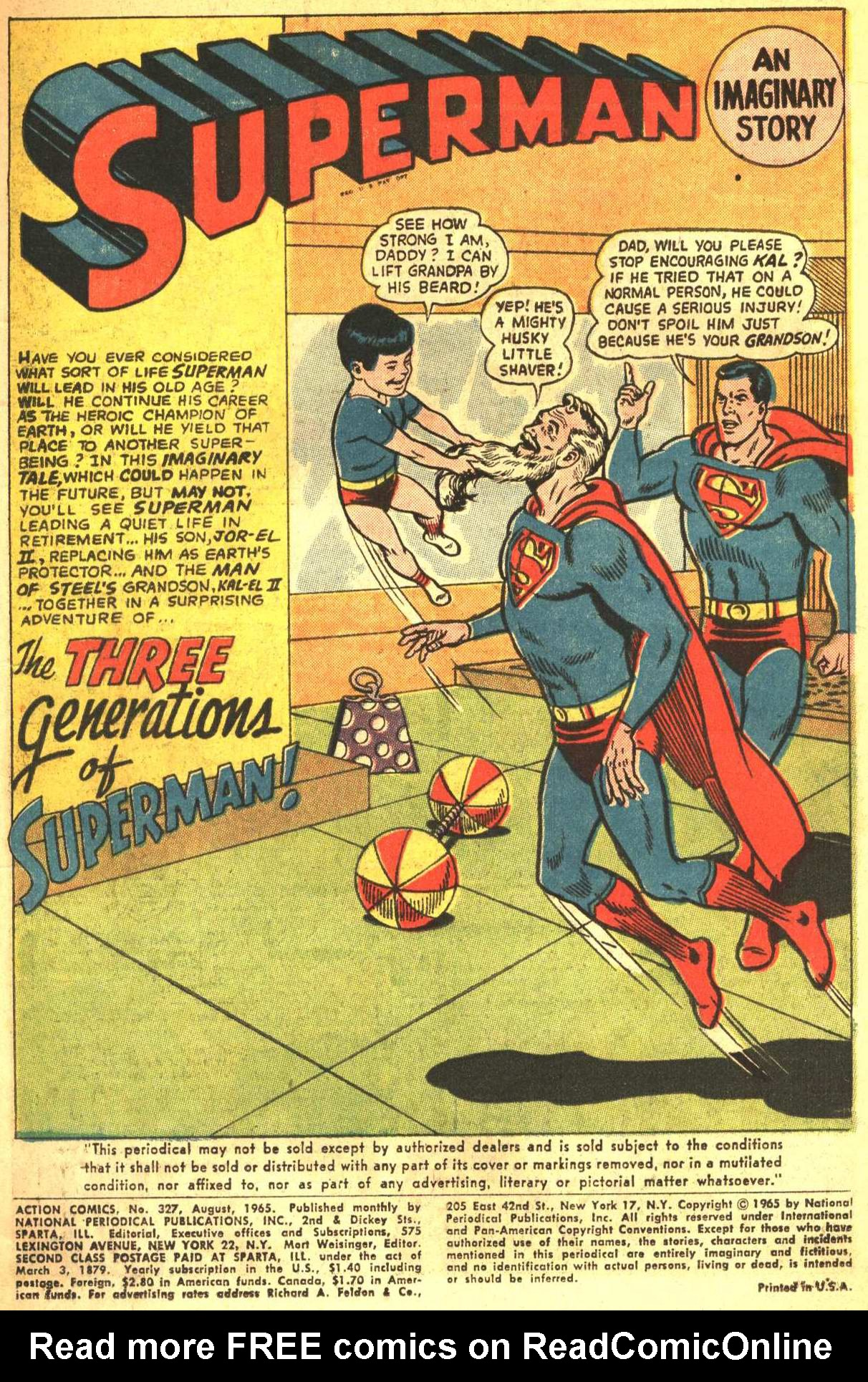 Read online Action Comics (1938) comic -  Issue #327 - 3