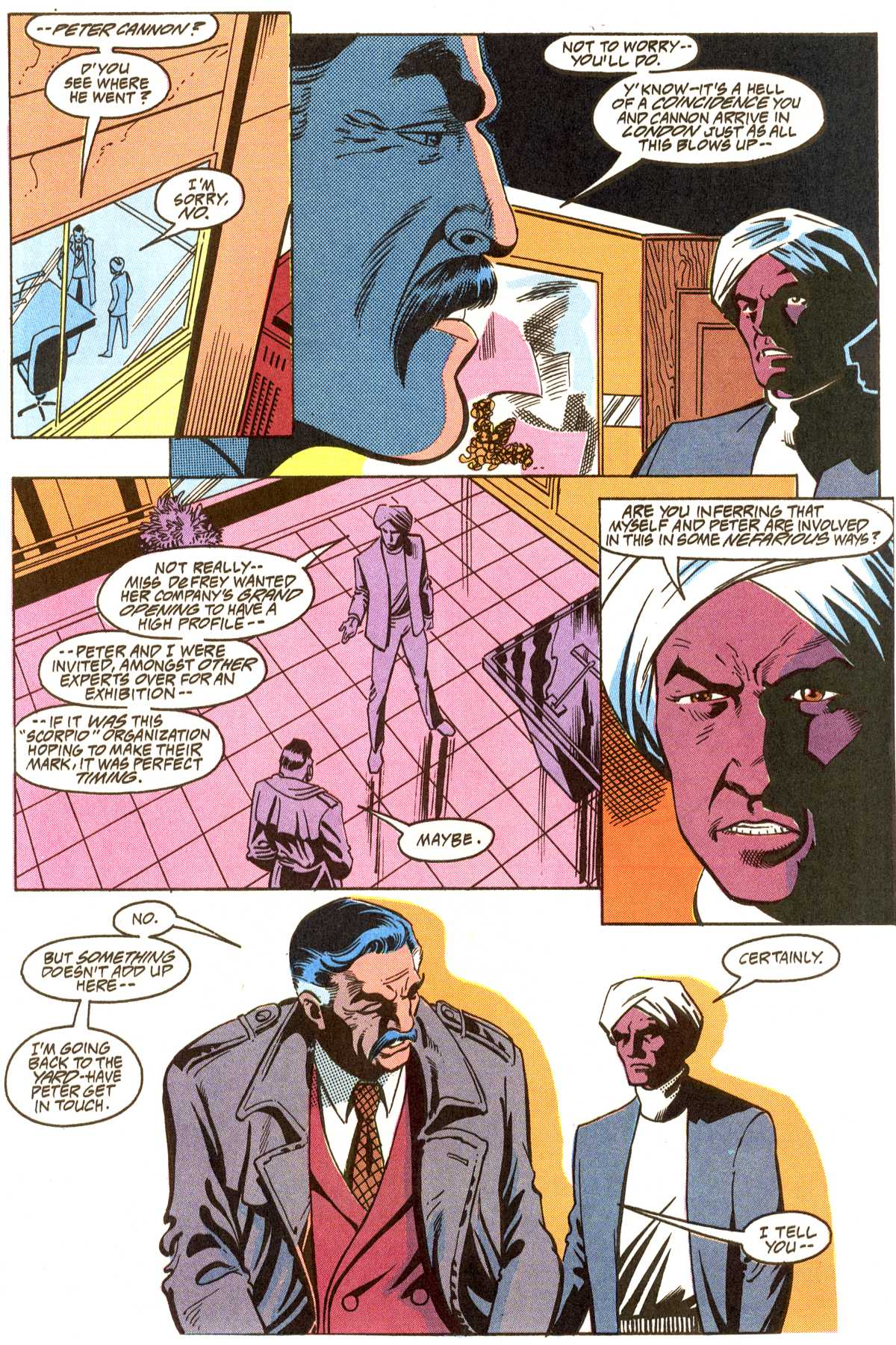 Read online Peter Cannon--Thunderbolt (1992) comic -  Issue #8 - 14