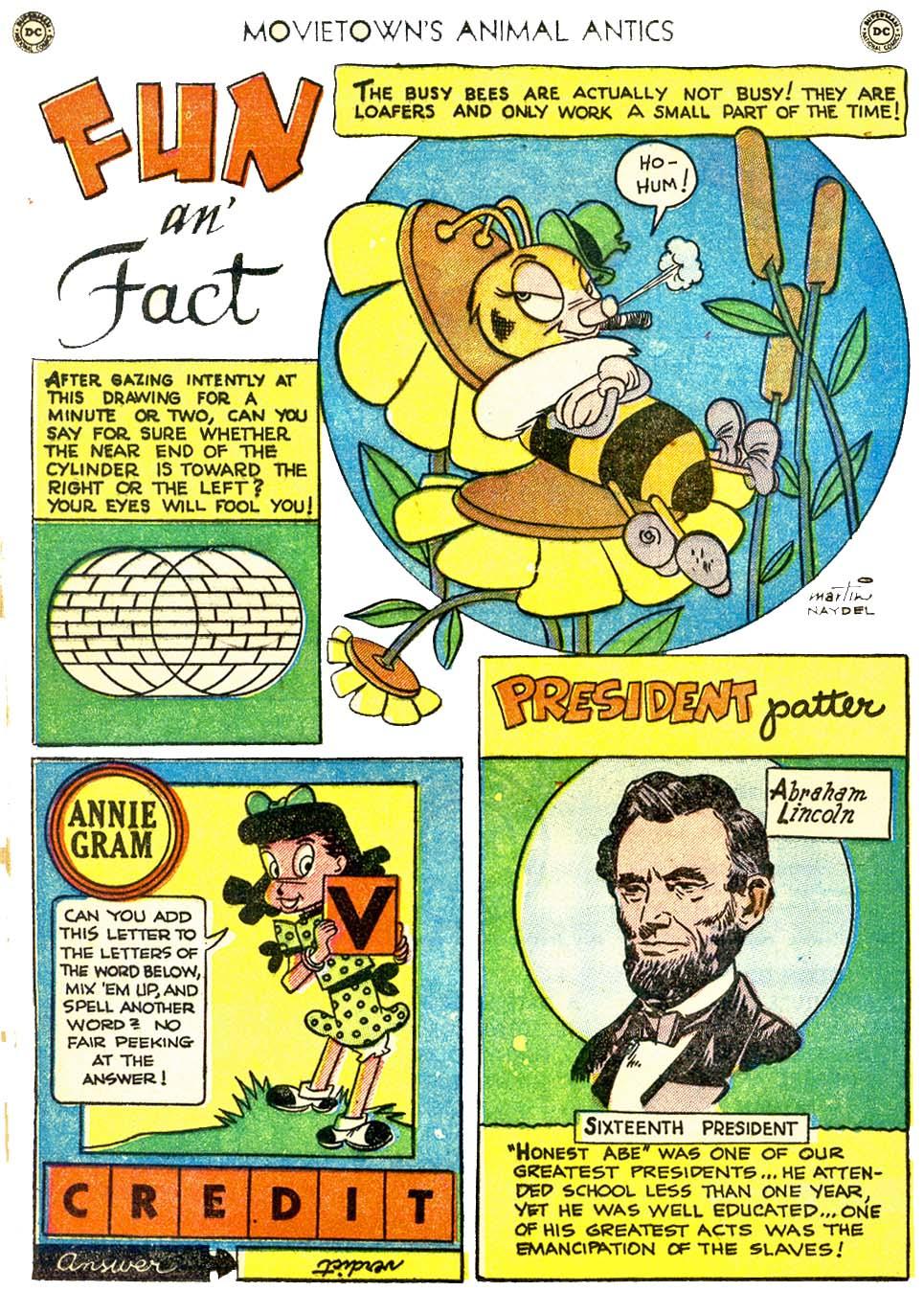 Read online Animal Antics comic -  Issue #32 - 34