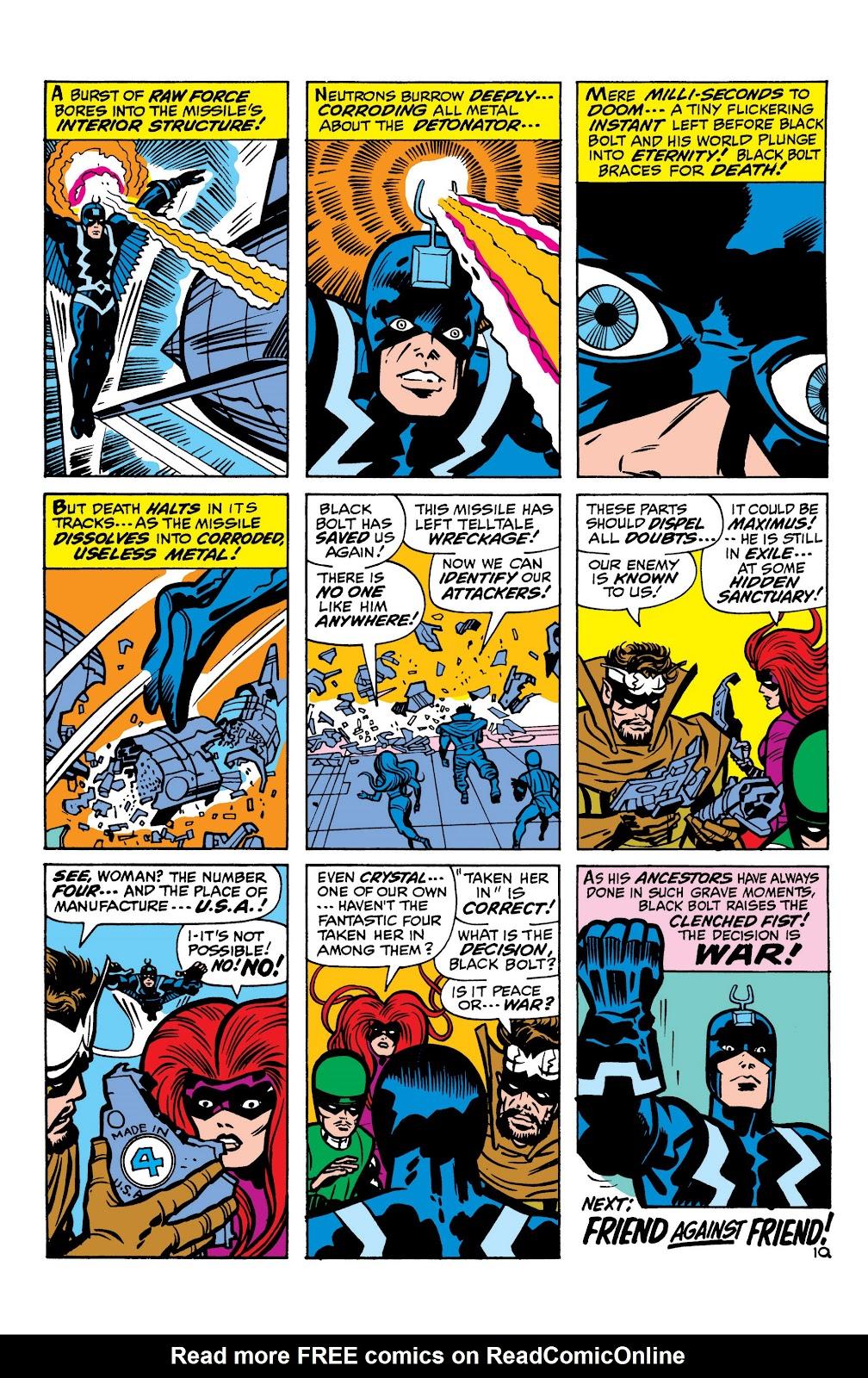 Read online Marvel Masterworks: The Inhumans comic -  Issue # TPB 1 (Part 1) - 79