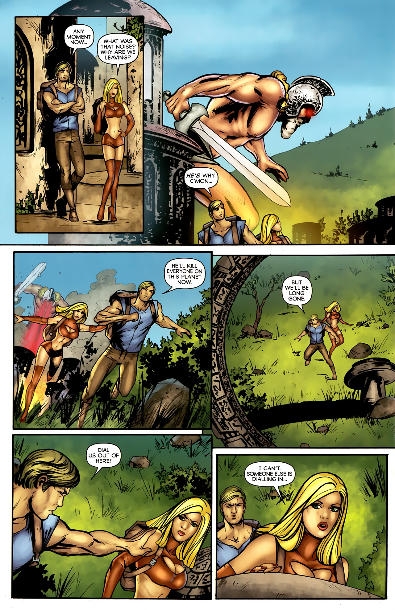 Read online Stargate: Daniel Jackson comic -  Issue #4 - 18