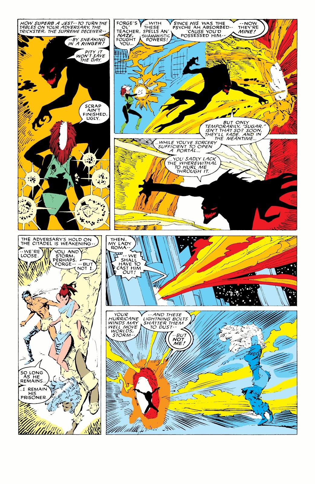 Read online X-Men Milestones: Fall of the Mutants comic -  Issue # TPB (Part 1) - 83
