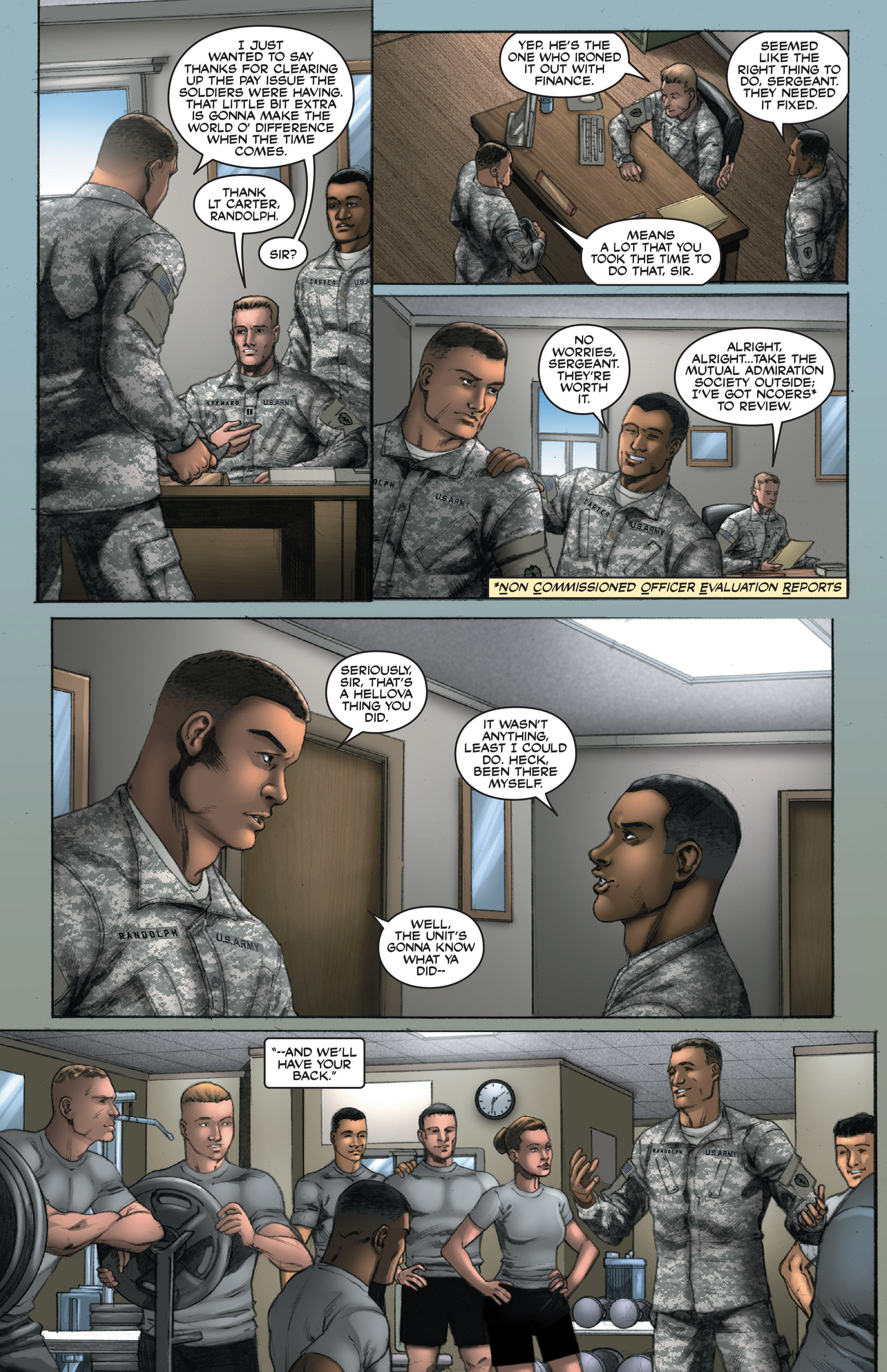 Read online America's Army comic -  Issue #14 - 7