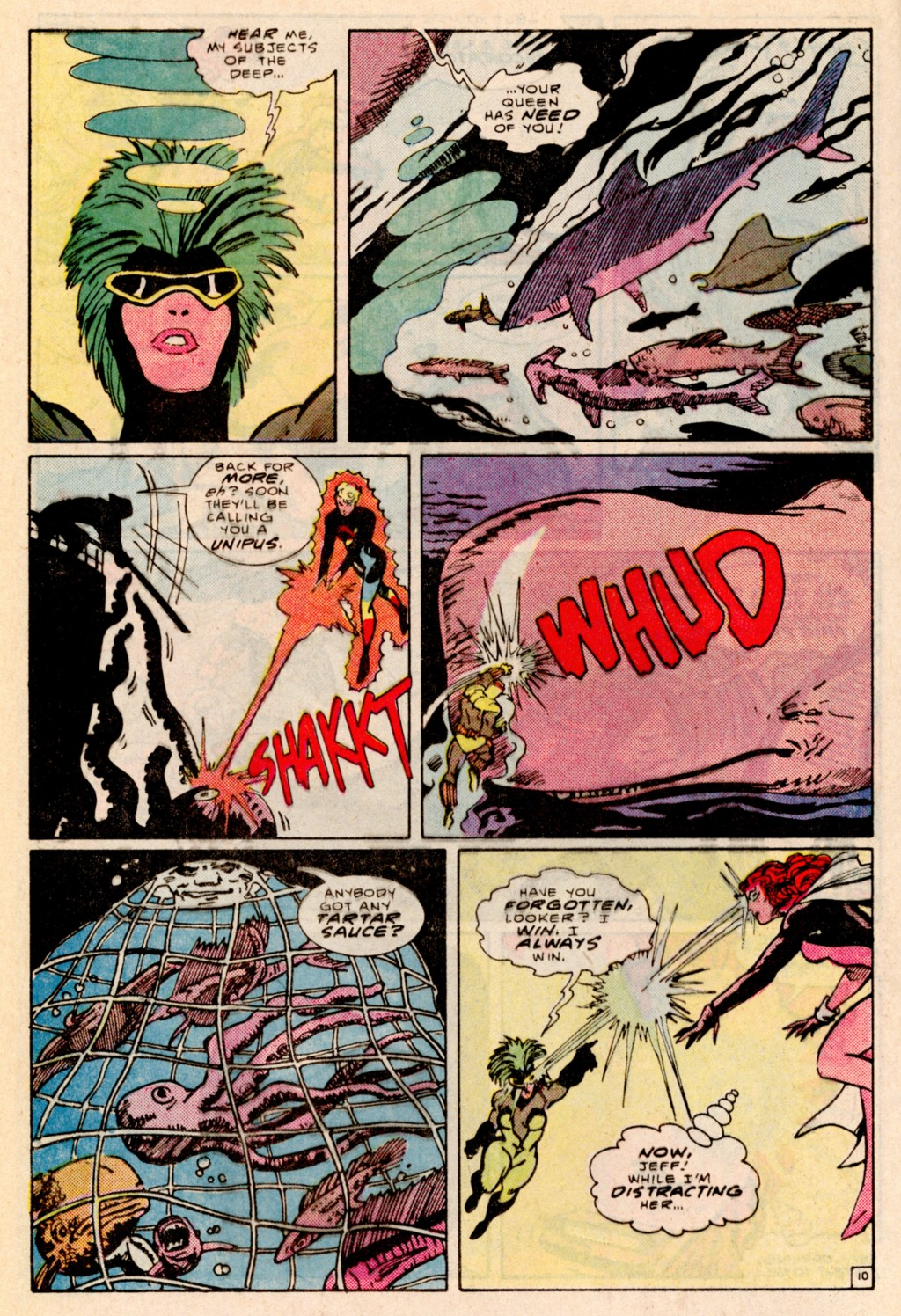 Read online Adventures of the Outsiders comic -  Issue #38 - 11