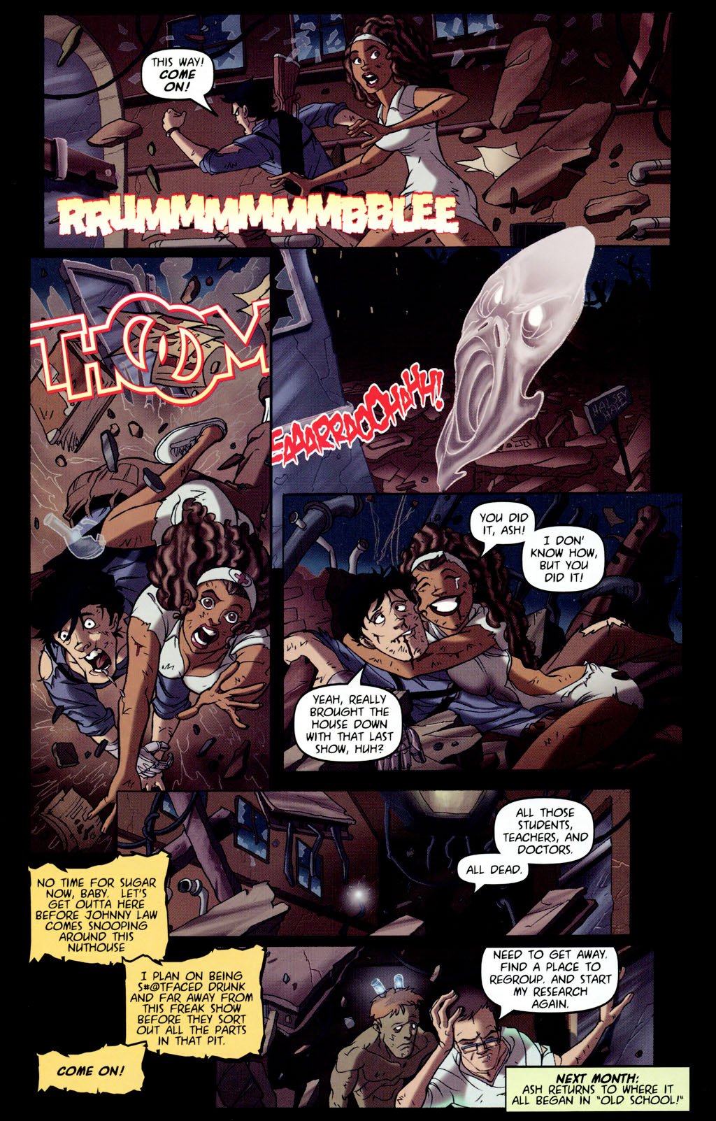 Read online Army of Darkness vs. Re-Animator comic -  Issue #4 - 26