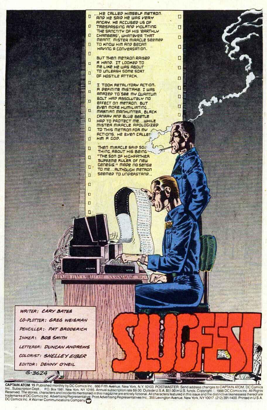 Captain Atom (1987) 15 Page 1