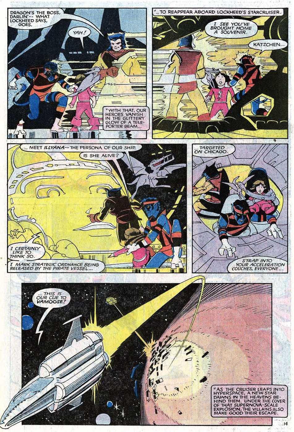 Read online Uncanny X-Men (1963) comic -  Issue # _Annual 8 - 17