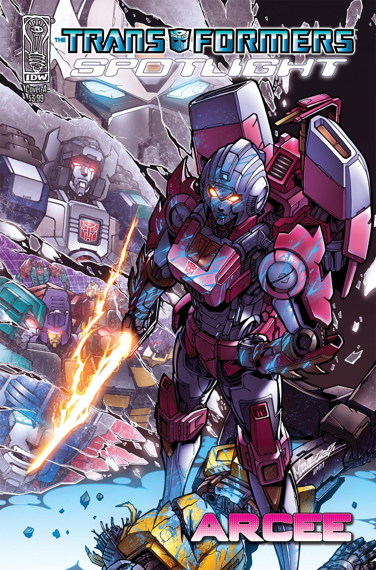 Read online Transformers: Spotlight - Arcee comic -  Issue # Full - 1