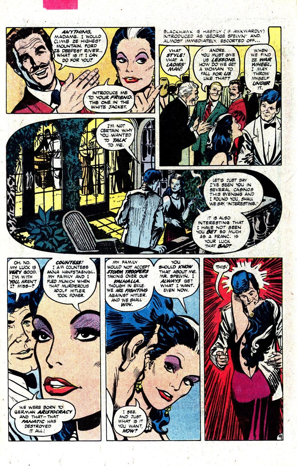 Read online Blackhawk (1957) comic -  Issue #252 - 13
