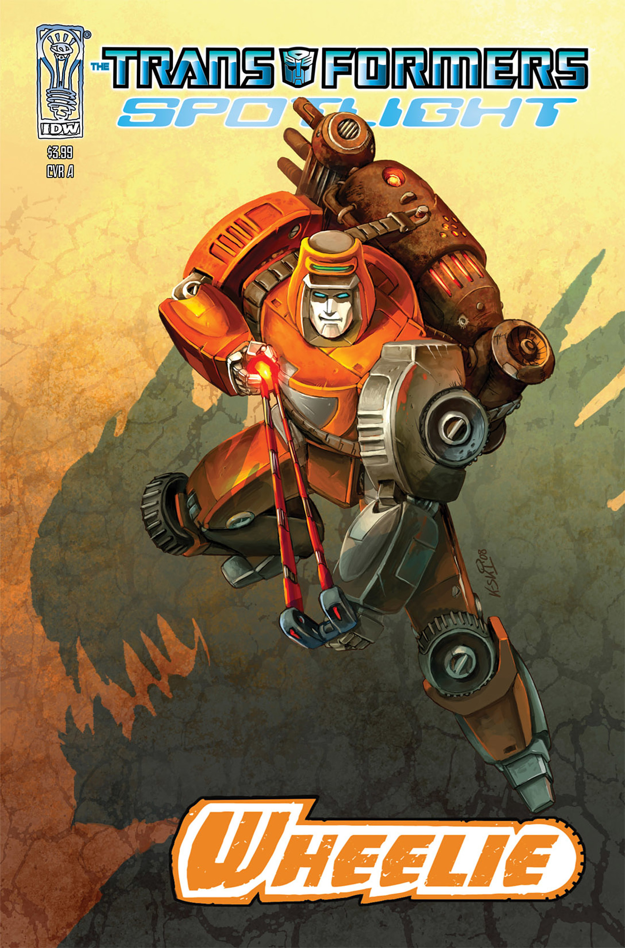 Read online Transformers Spotlight: Wheelie comic -  Issue # Full - 1