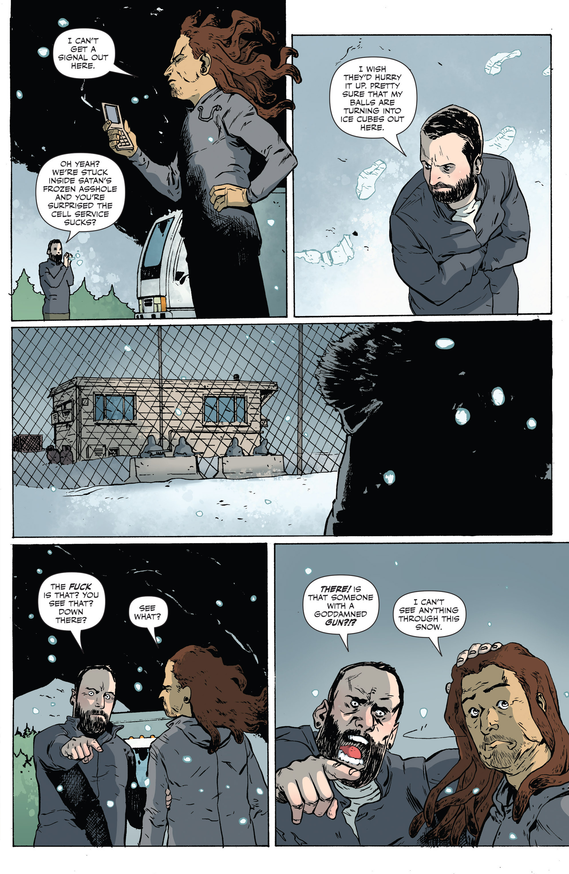 Read online Sheltered comic -  Issue #6 - 17