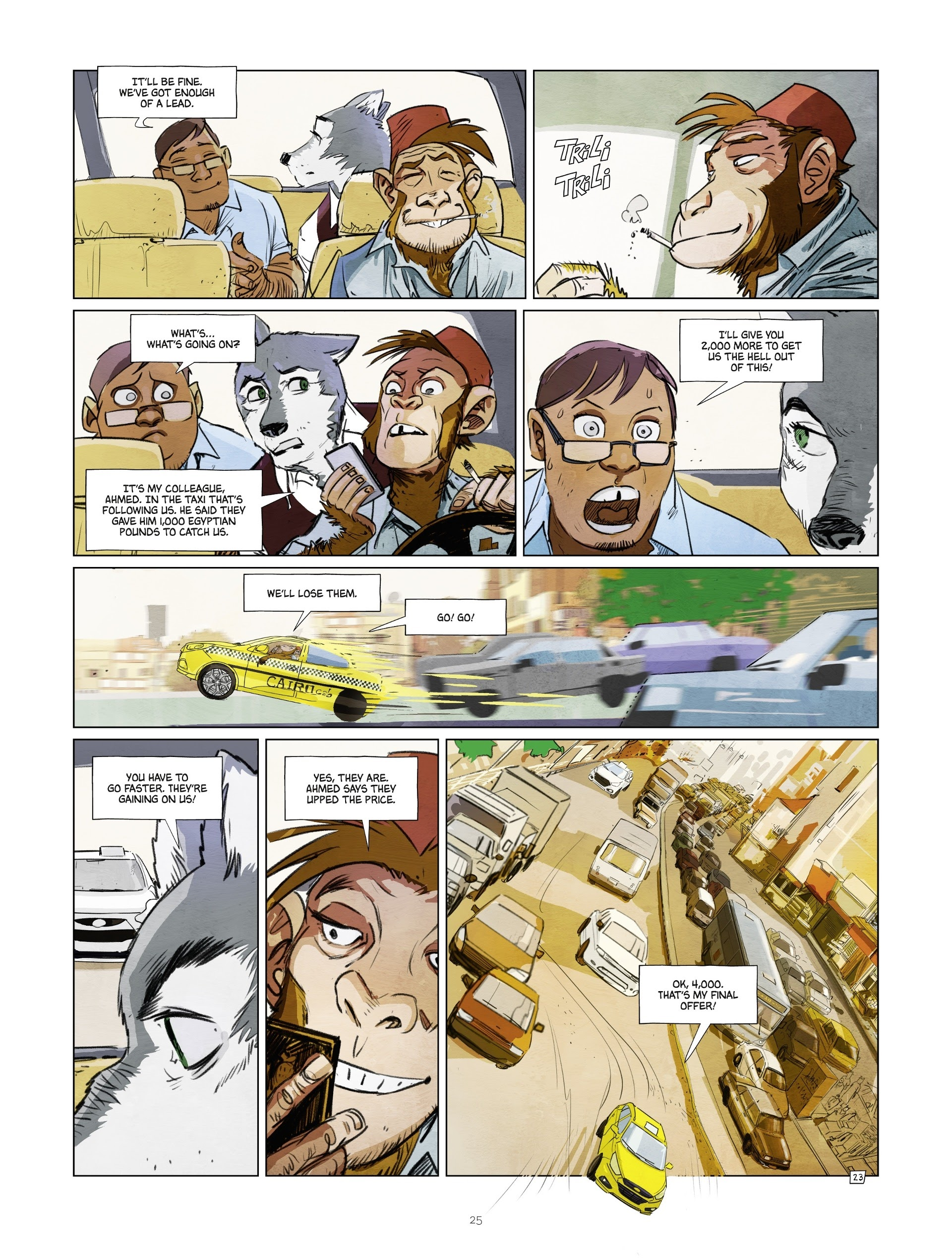 Read online Jack Wolfgang comic -  Issue #3 - 27