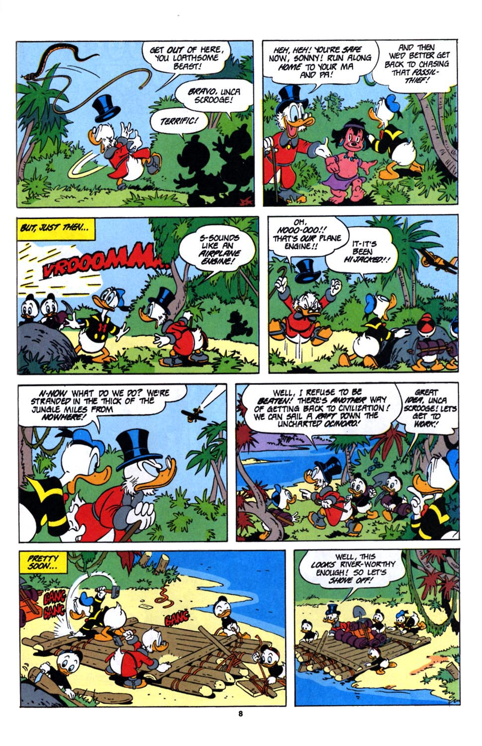 Read online Uncle Scrooge (1953) comic -  Issue #243 - 24