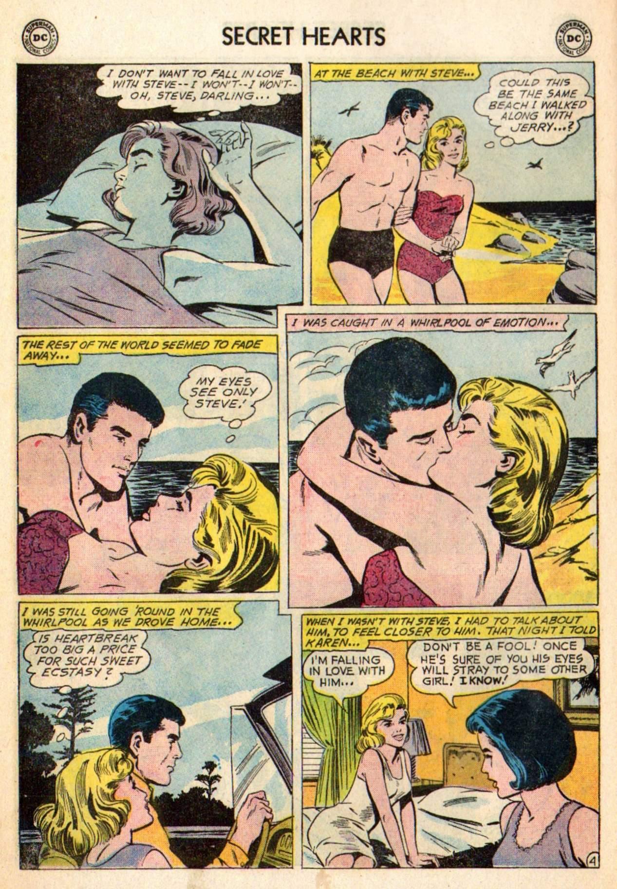 Read online Secret Hearts comic -  Issue #98 - 6